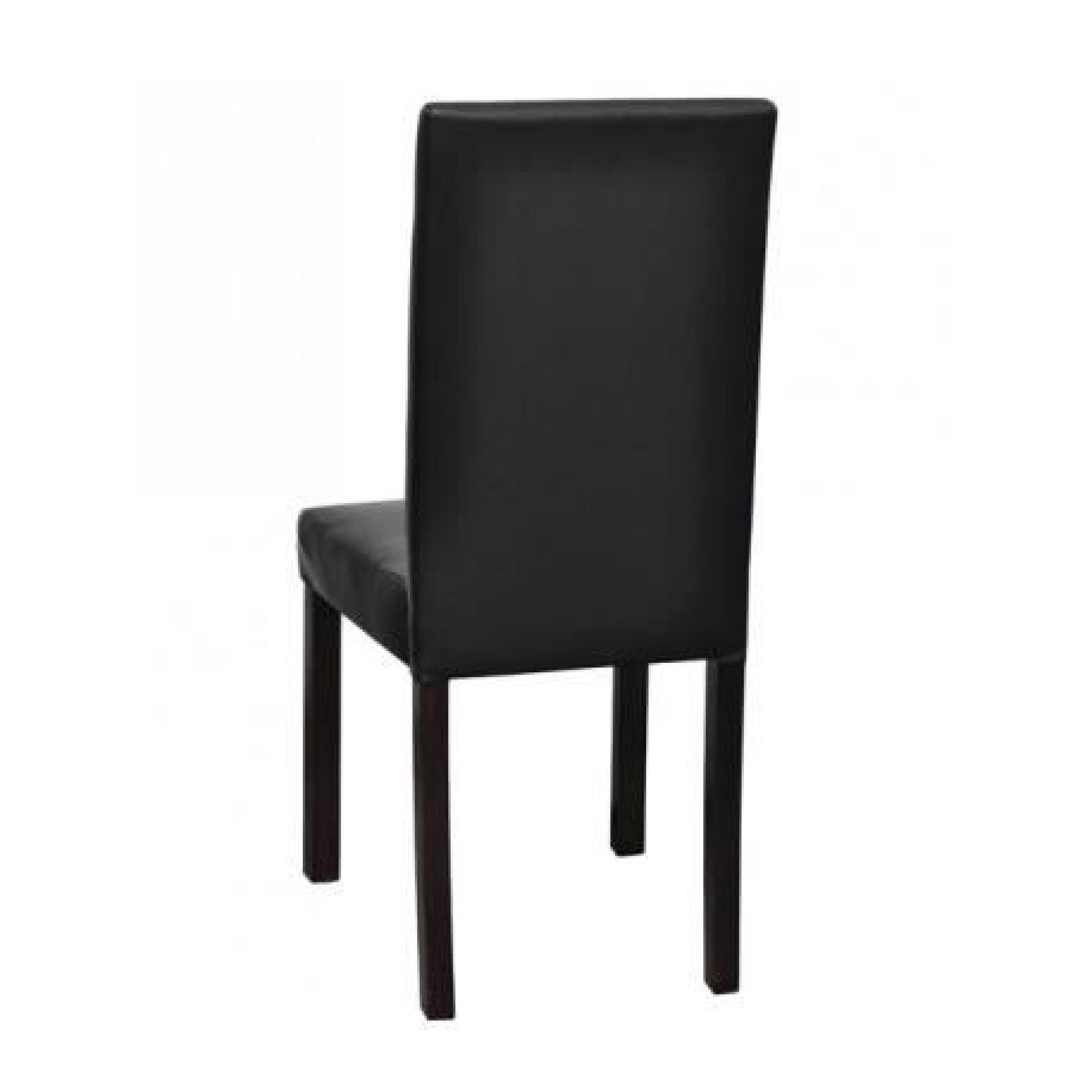 6 chaises style colonial noir maja achat vente chaise. Black Bedroom Furniture Sets. Home Design Ideas