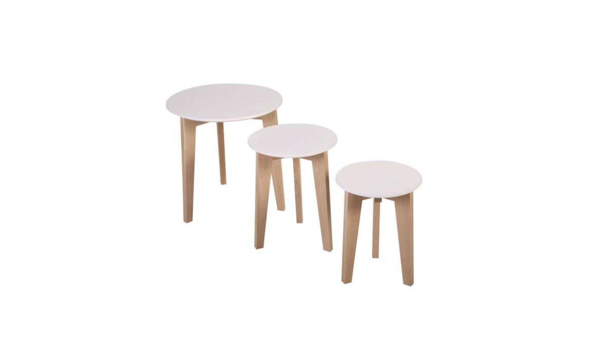 Abso tables gigognes achat vente table salle a manger for Table informatique pas cher