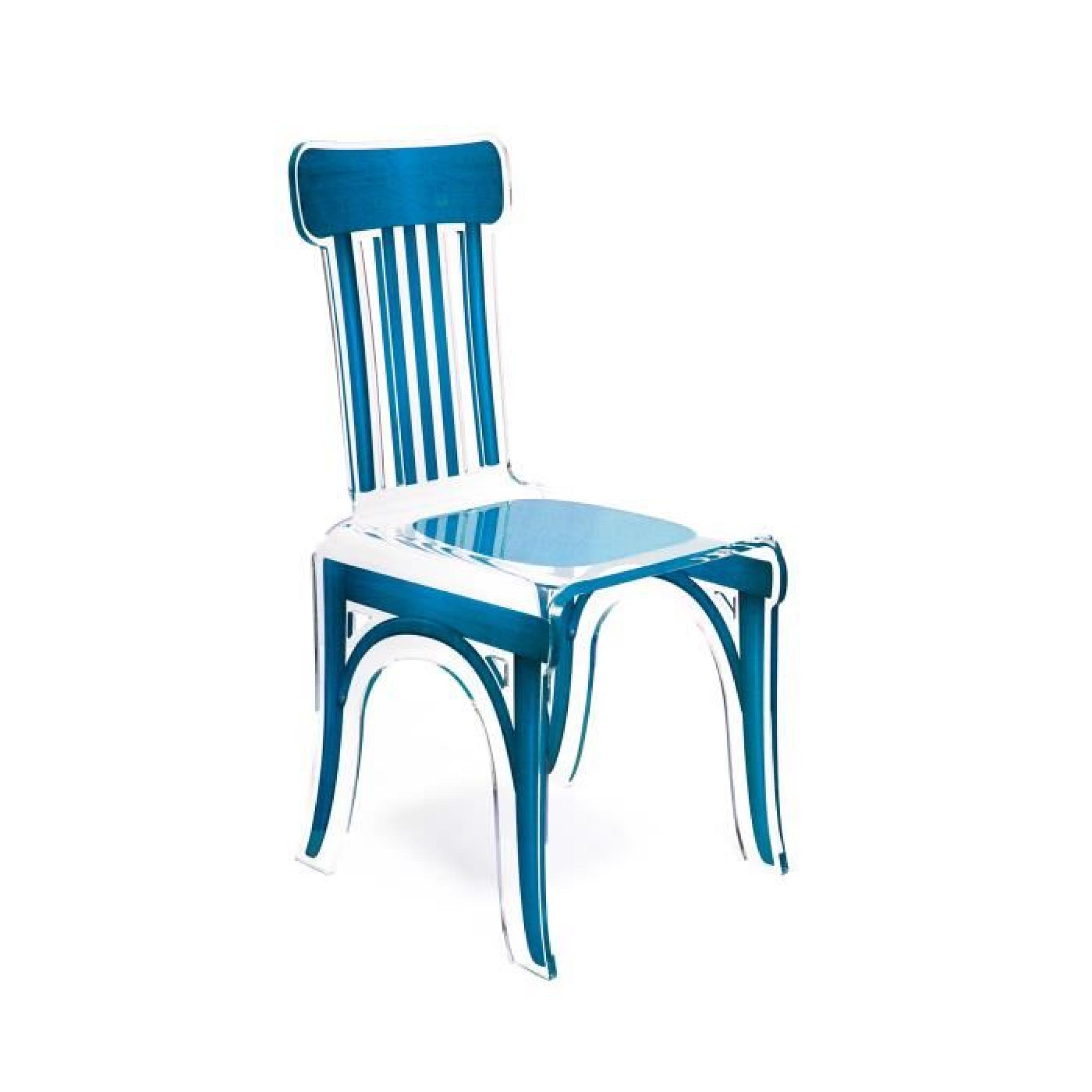 Acrila Chaise Bistrot Bleu