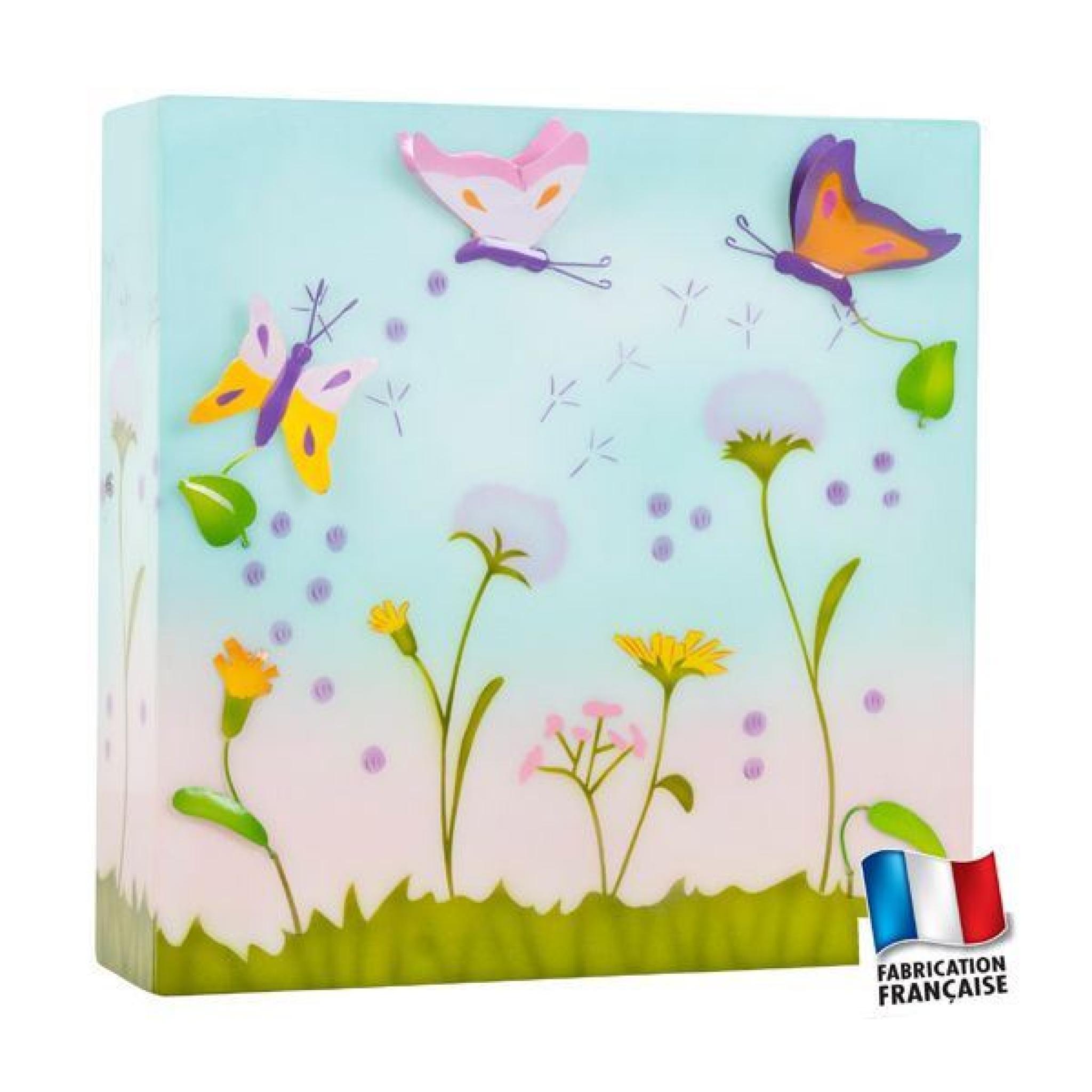 applique fleur des champs achat vente applique murale With chambre bébé design avec champ de fleurs achat