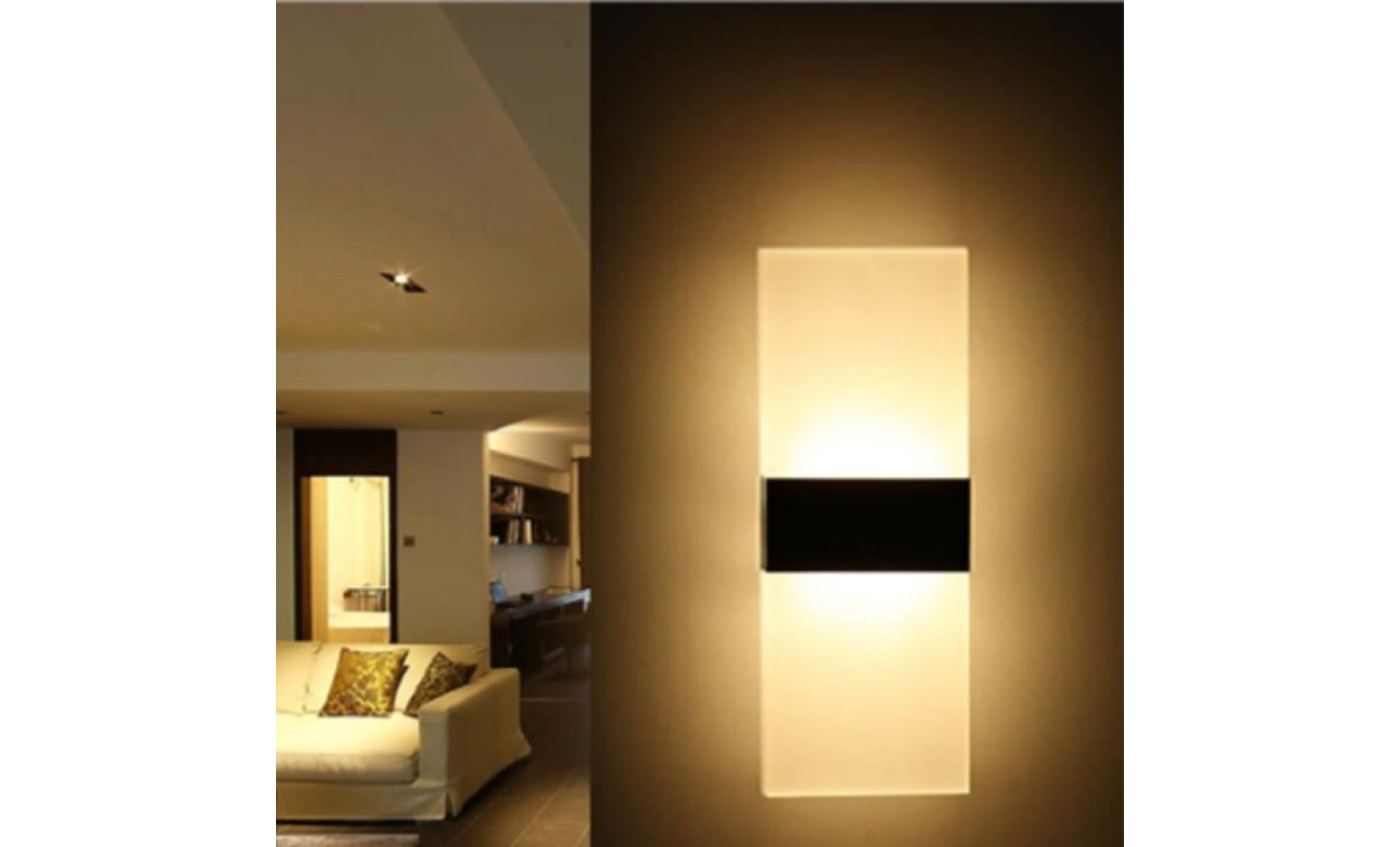 Veilleuse Lumière De Bouton Luminaire Poussoir Salon Bain Chambre Applique Le Led Salle Mur Pour wnmN80