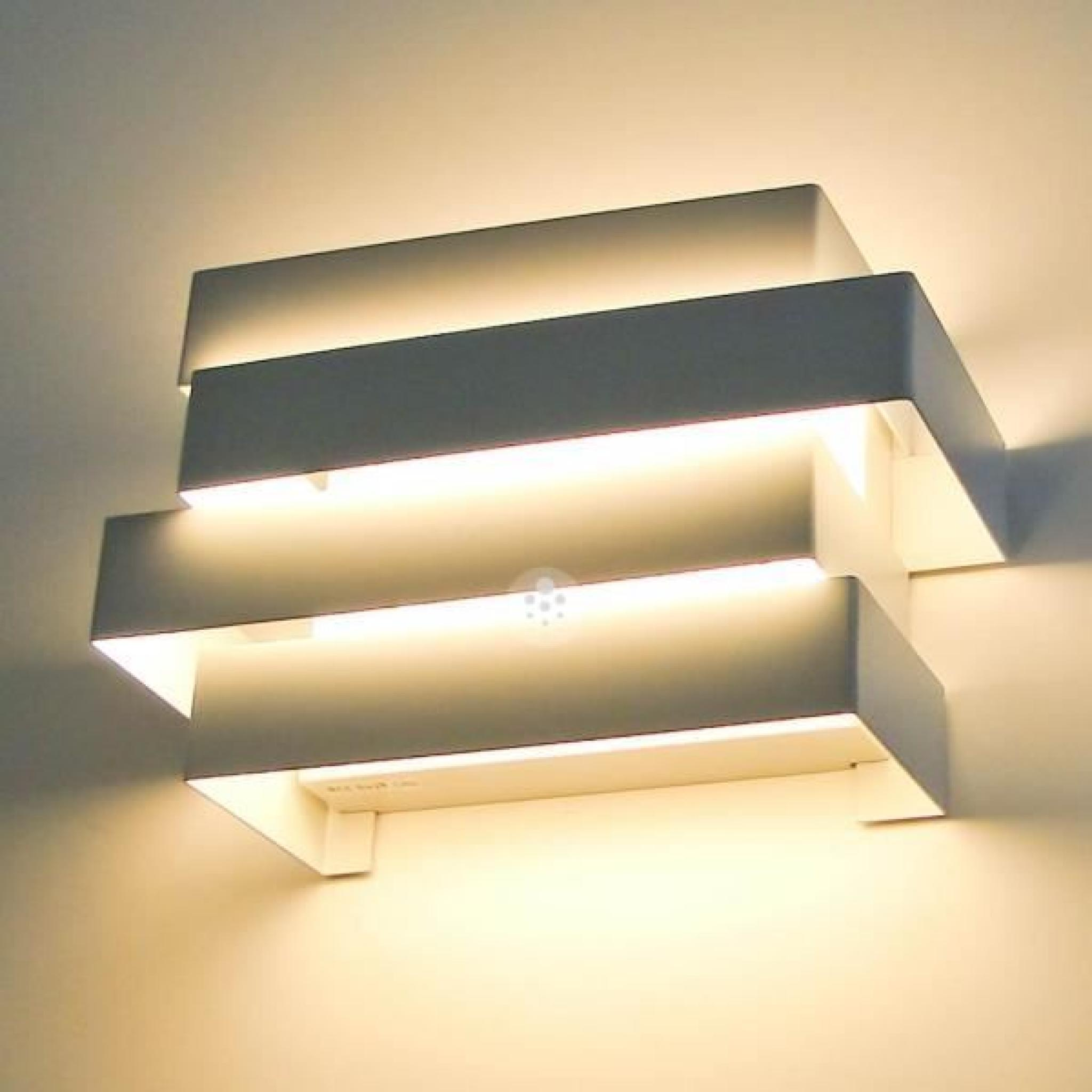 Applique led moderne design scala 6x1w achat vente - Applique murale pas chere ...