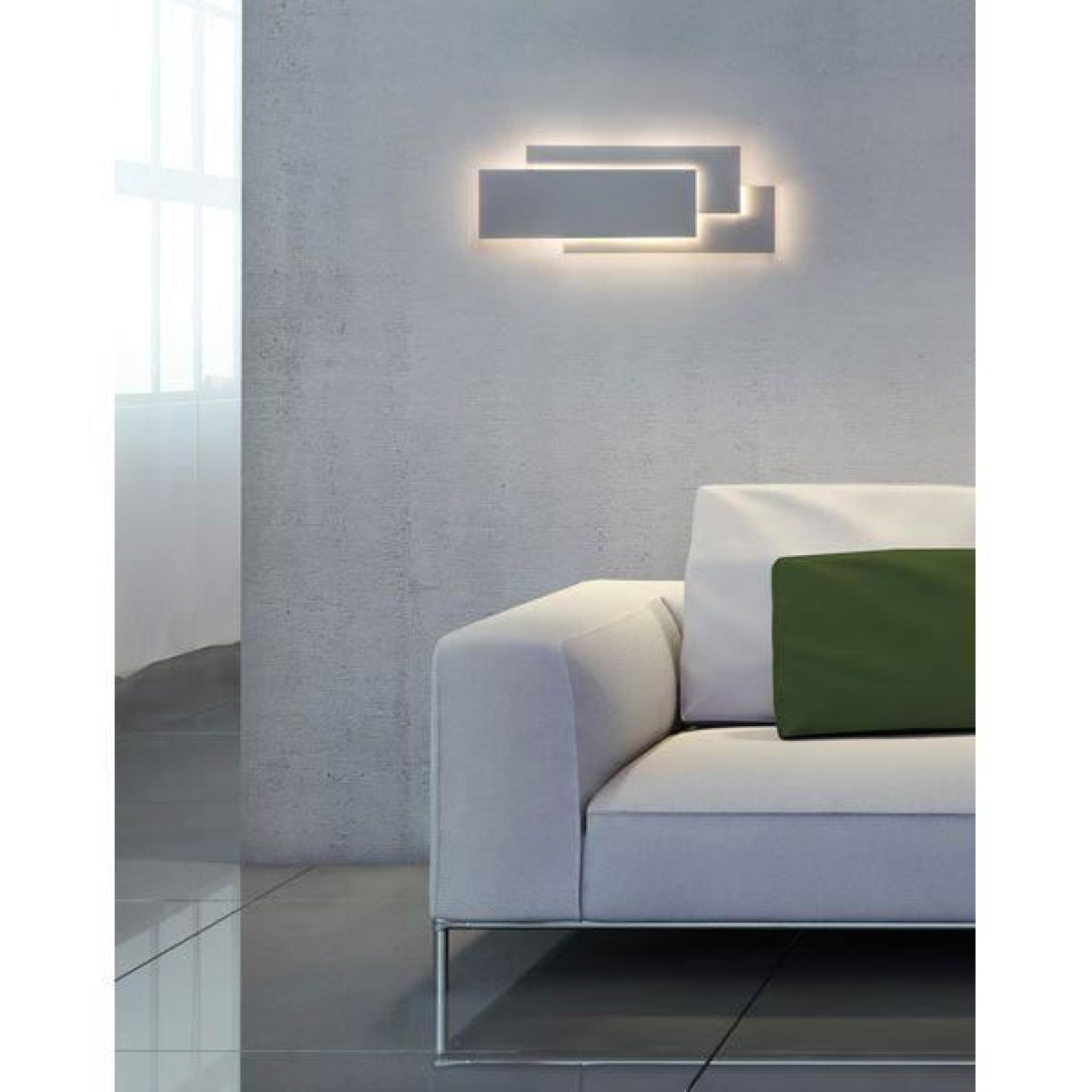 applique murale led edge 560 achat vente applique murale pas cher couleur et. Black Bedroom Furniture Sets. Home Design Ideas