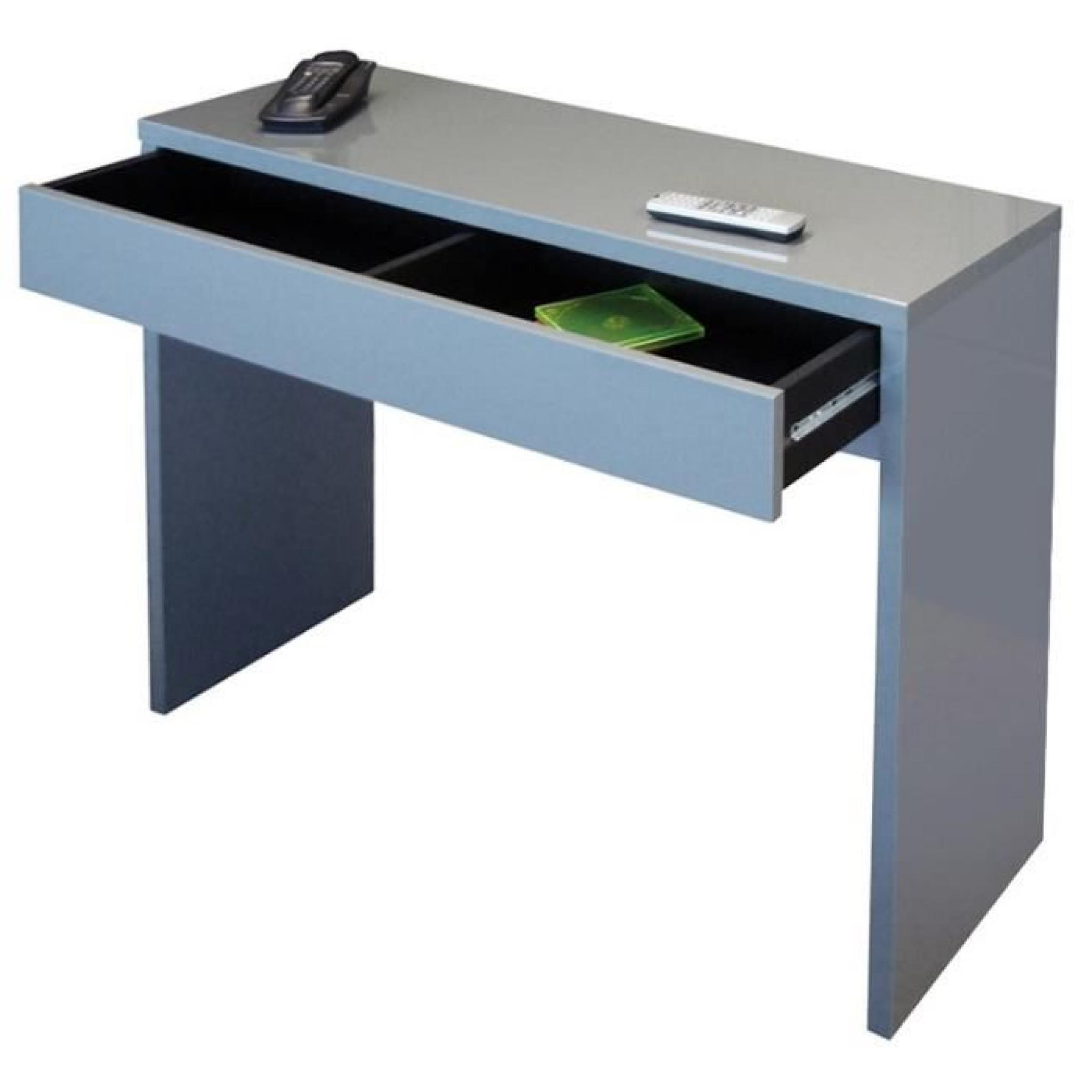 arena console gris haute brillance achat vente console. Black Bedroom Furniture Sets. Home Design Ideas