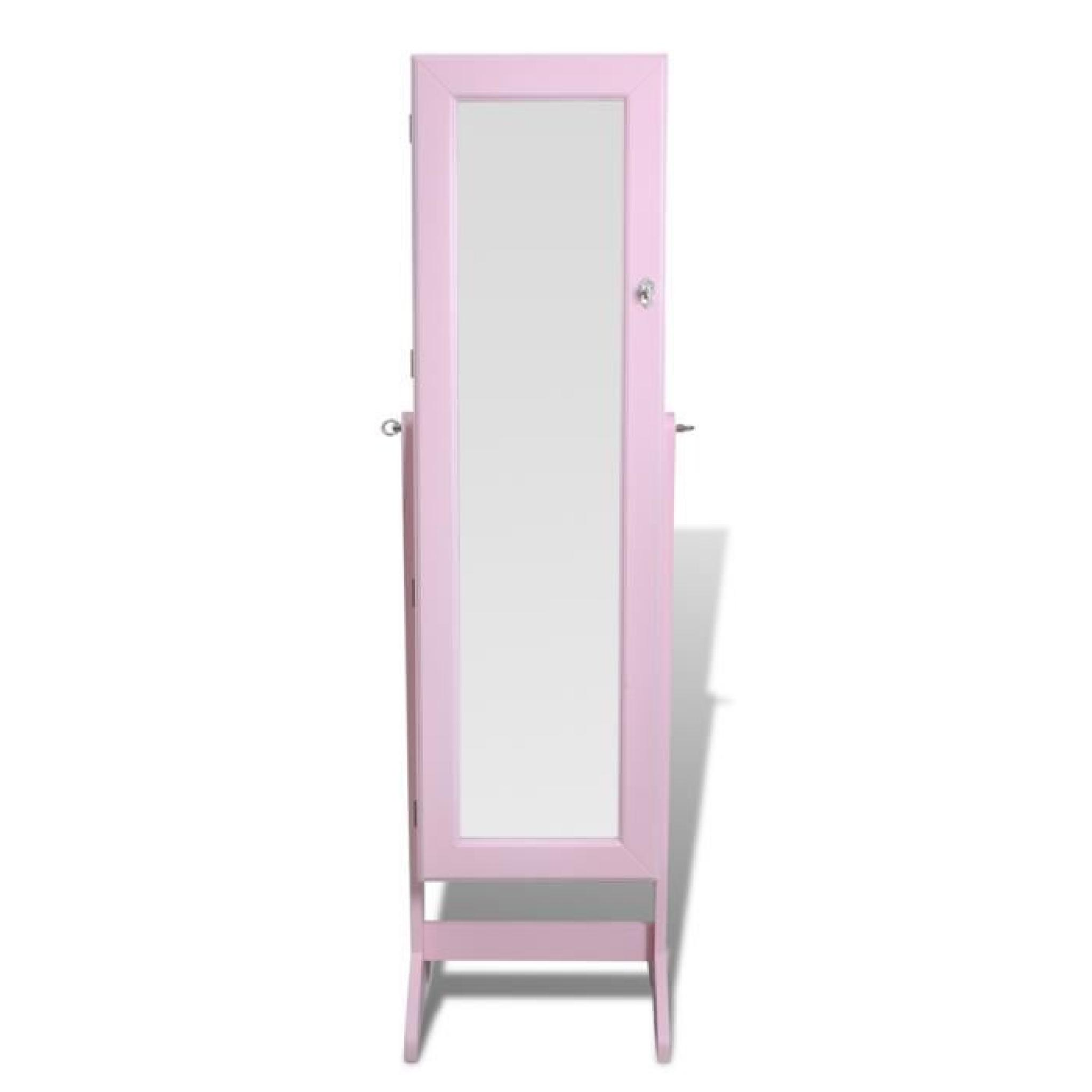 Armoire à Bijoux rangement miroir