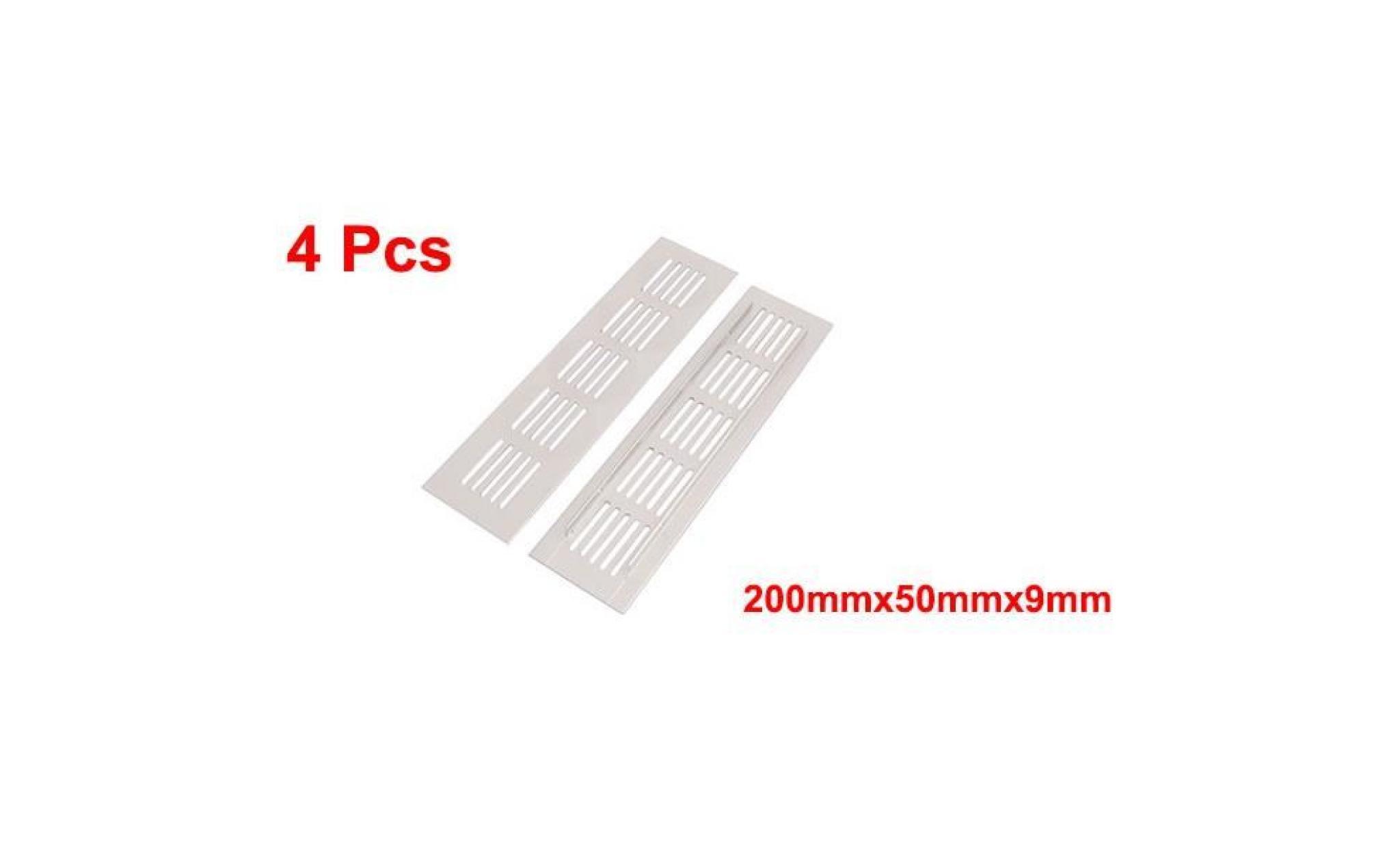 Cabinet Alliage D/'Aluminium Diffuseur 300x80x15mm 4Pcs grille ventilation air