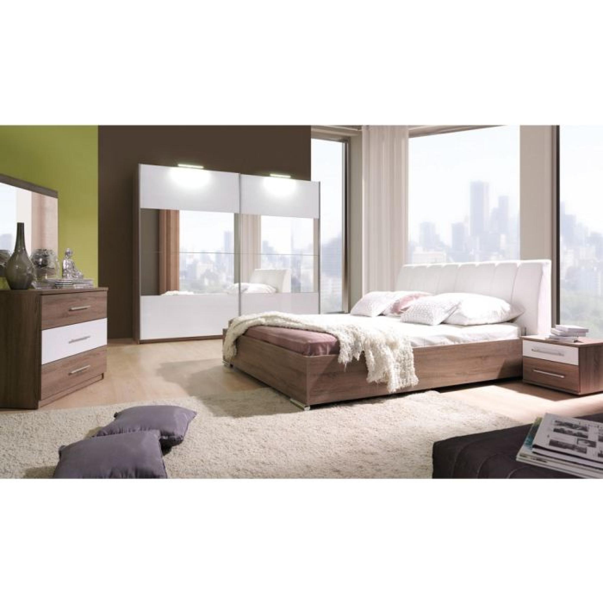 Armoire de chambre a coucher Cali avec miroir 2M - Achat/Vente ...