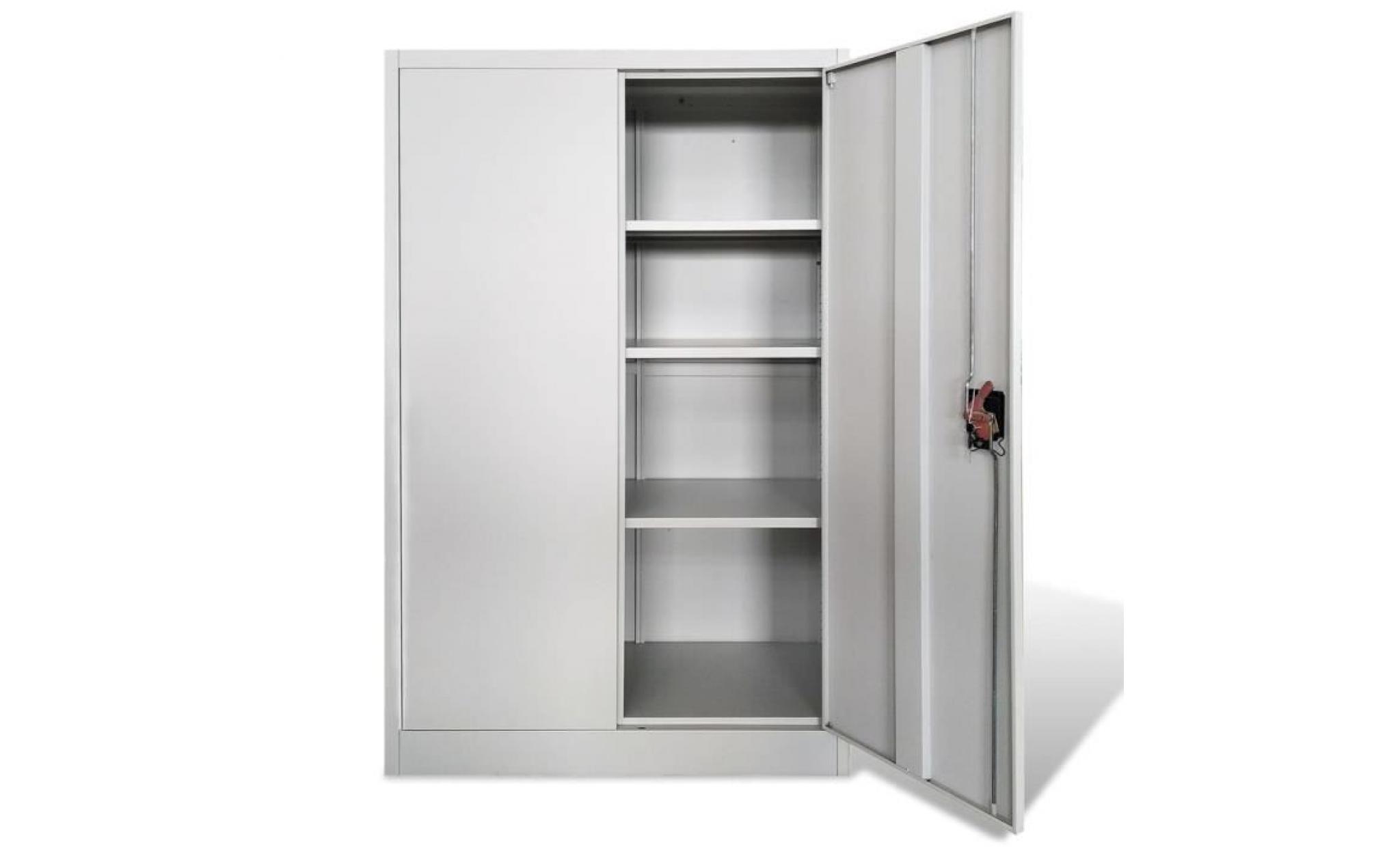 armoire de bureau acier gris armoire chambre armoire penderie armoire de  chambre contemporain
