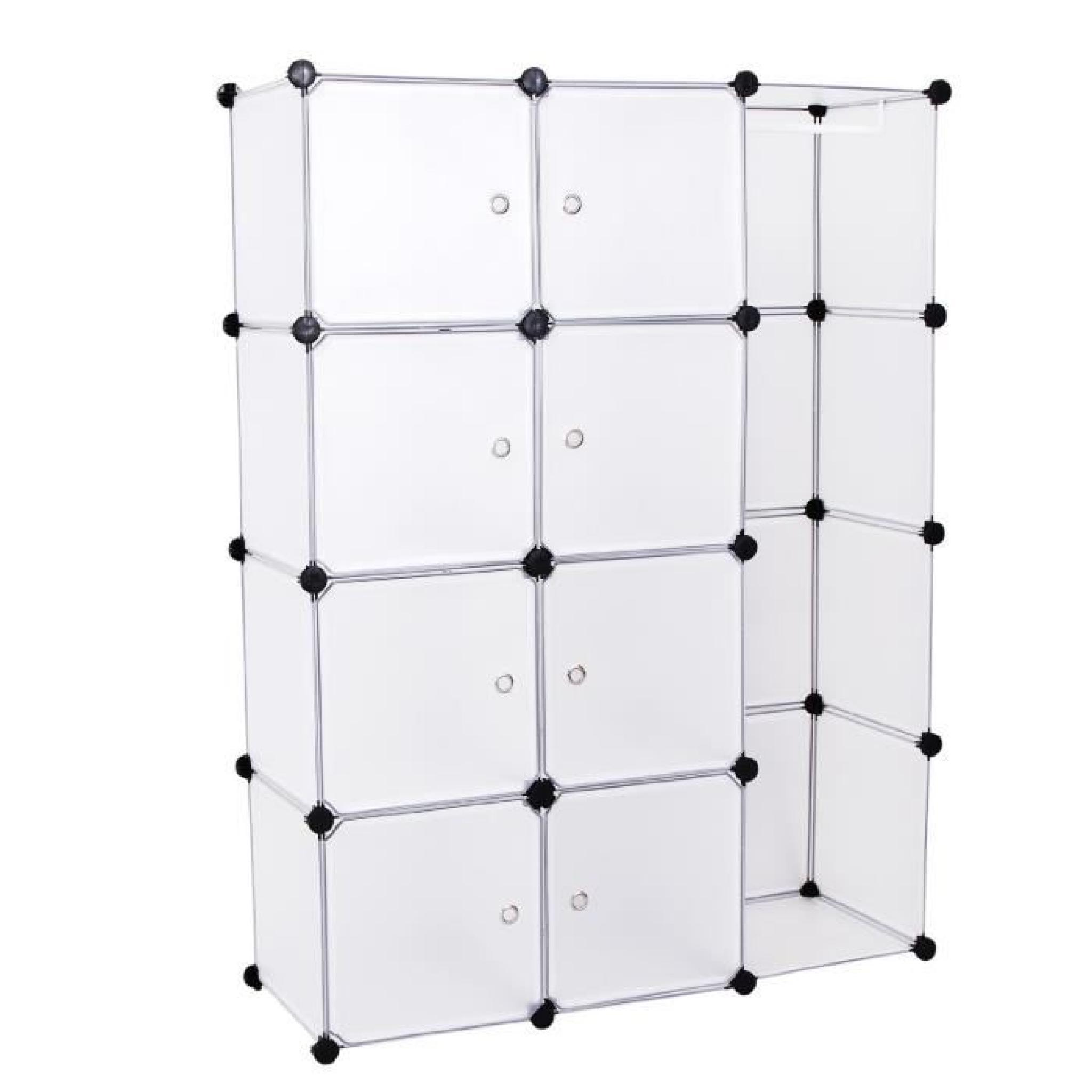 armoire etagere penderie modulable achat vente dressing. Black Bedroom Furniture Sets. Home Design Ideas