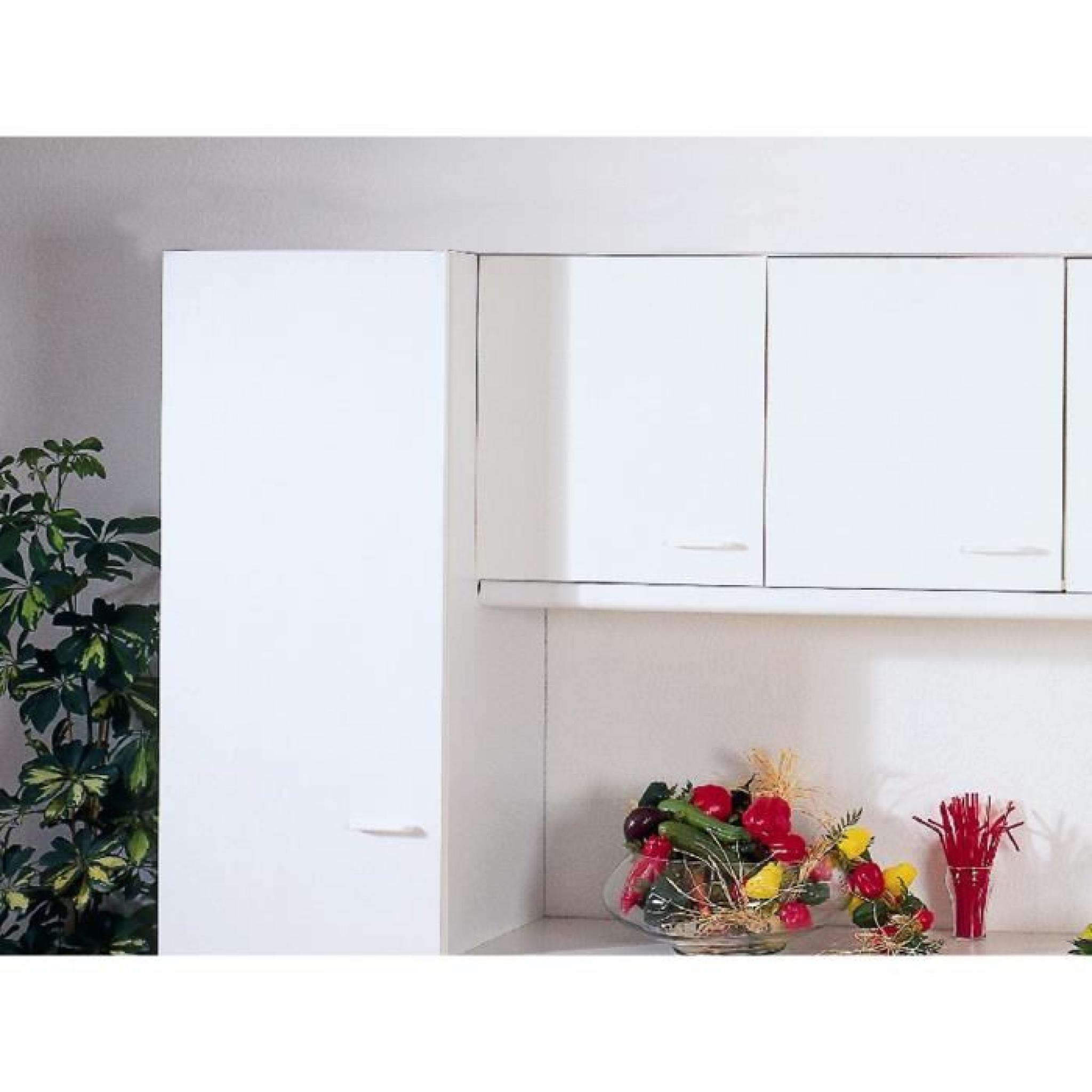 Armoire Murale Cuisine Coloris Blanc A 1 Porte Achat Vente