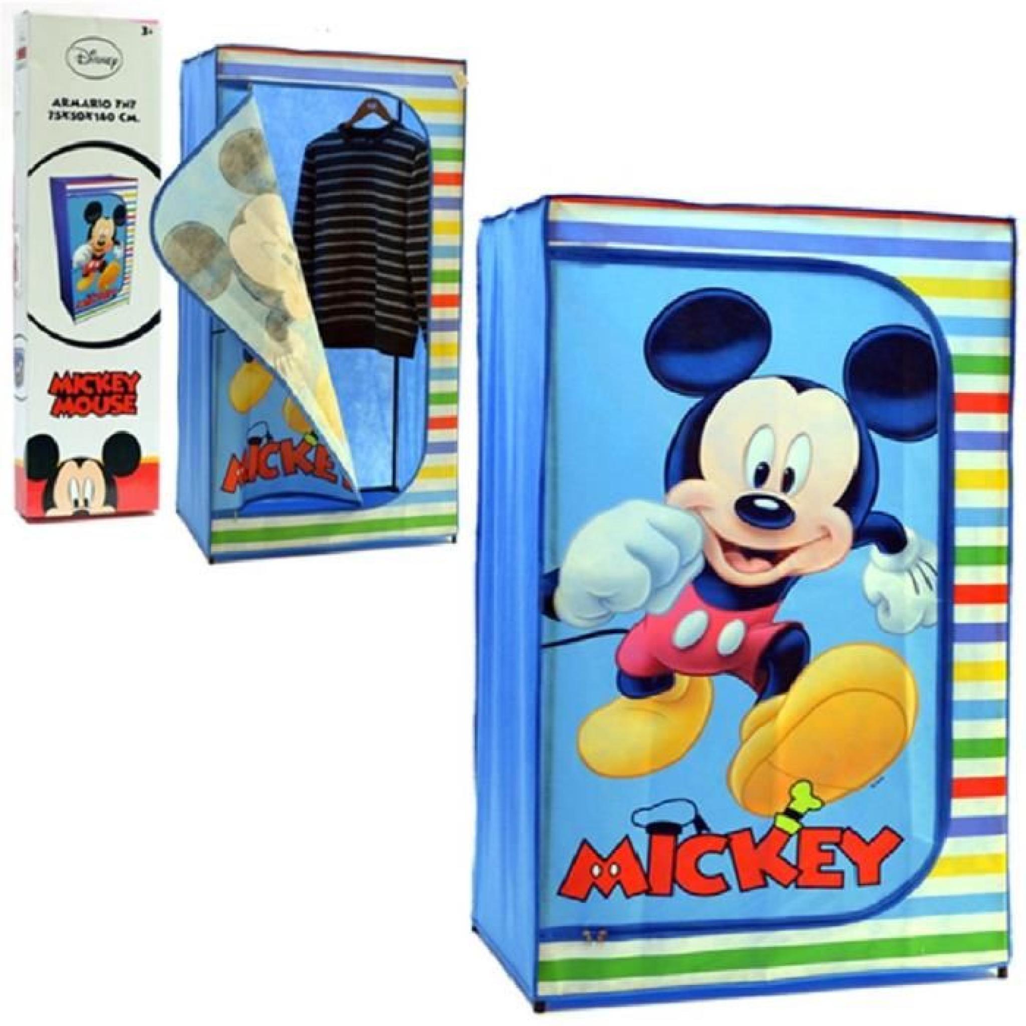 armoire penderie mickey achat vente armoire de chambre pas cher couleur et. Black Bedroom Furniture Sets. Home Design Ideas