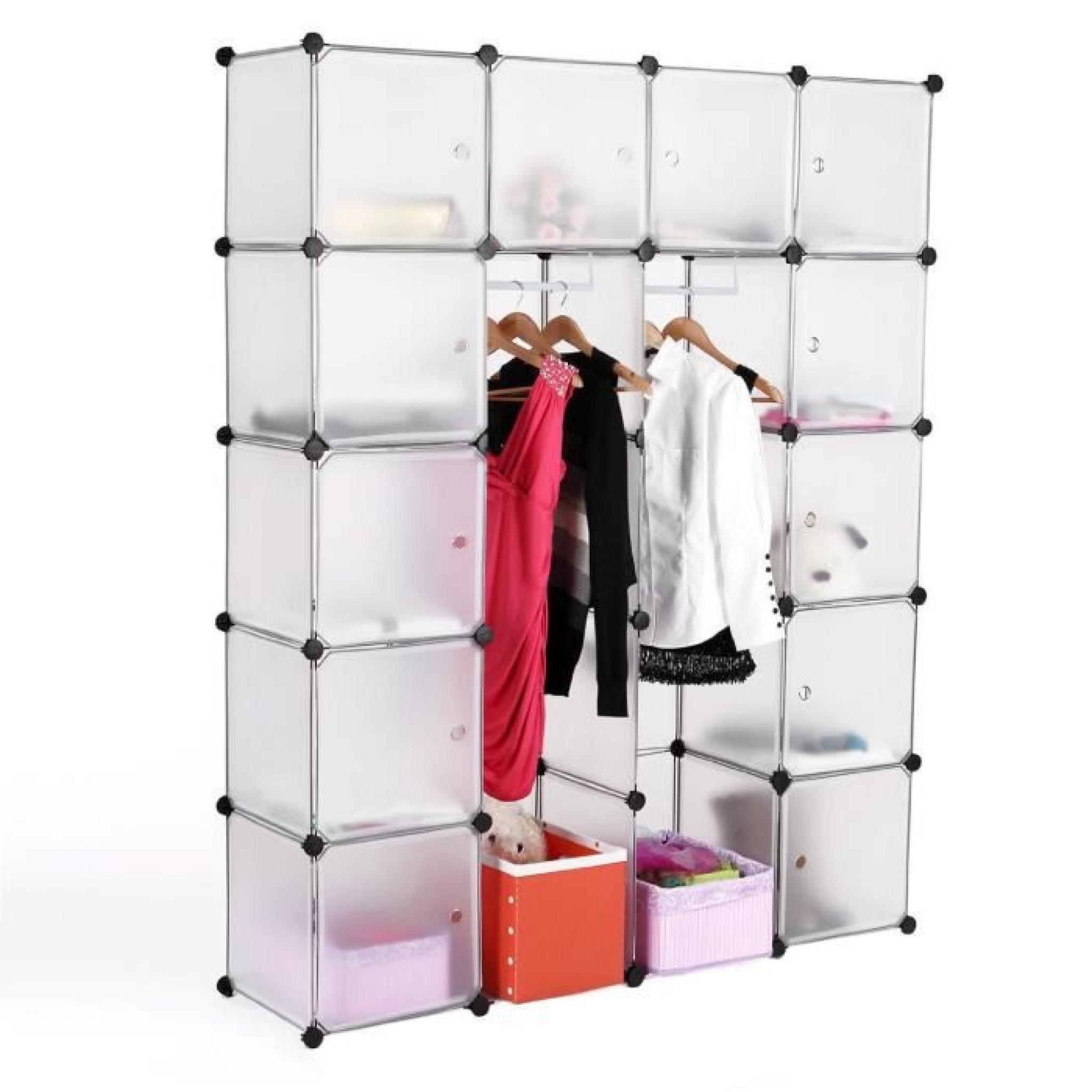 Armoire ,rangement ,penderie,etagere - Achat/Vente armoire de chambre pas cher - Couleur-et ...