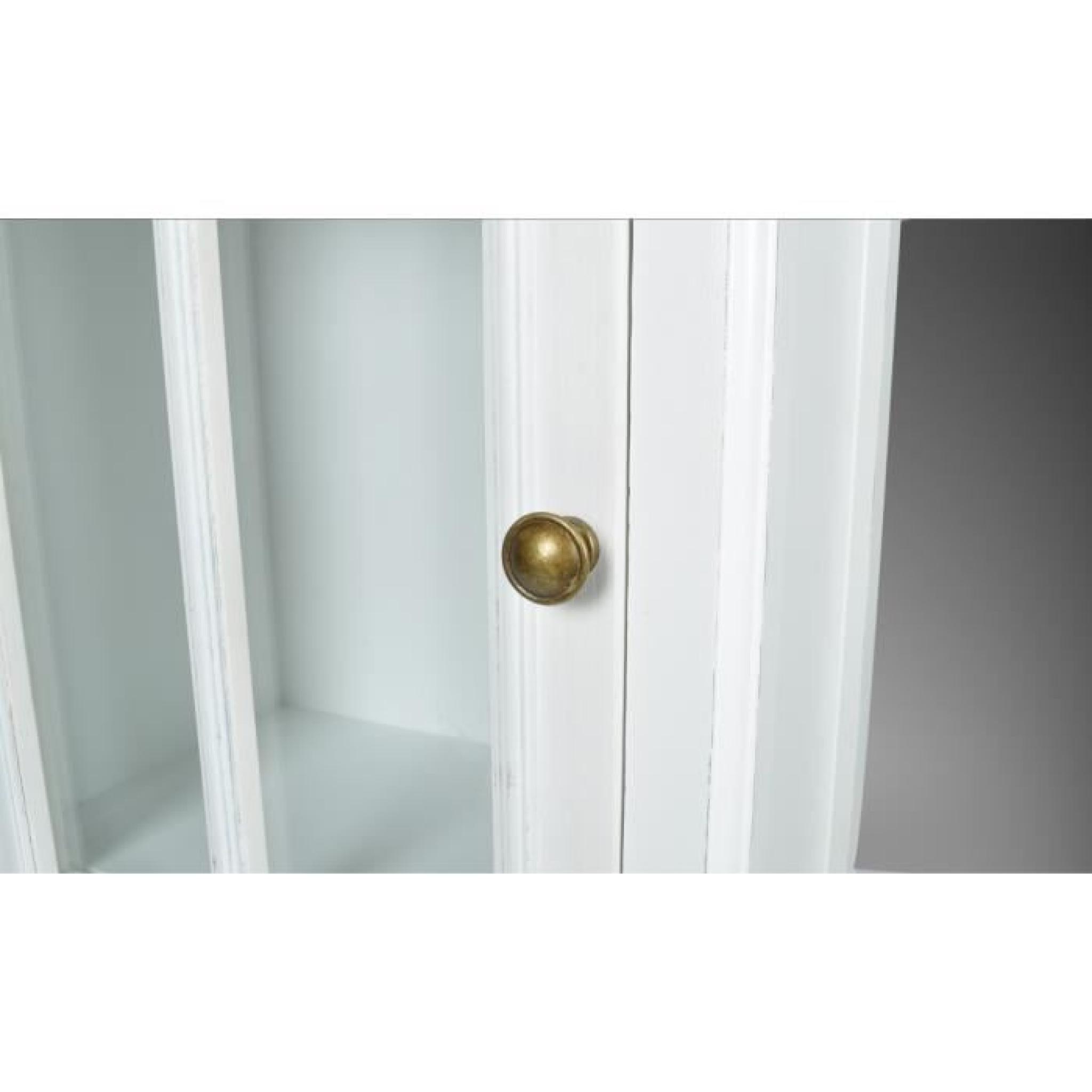 Armoire vitrine avec un tiroir achat vente armoire de for Petite armoire avec tiroir