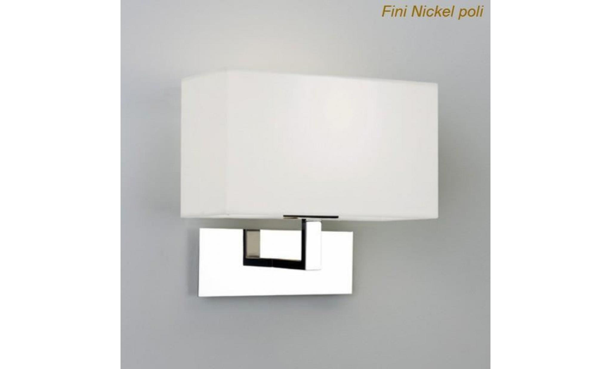 Astro lighting applique murale abat jour park achat - Grande applique murale design ...
