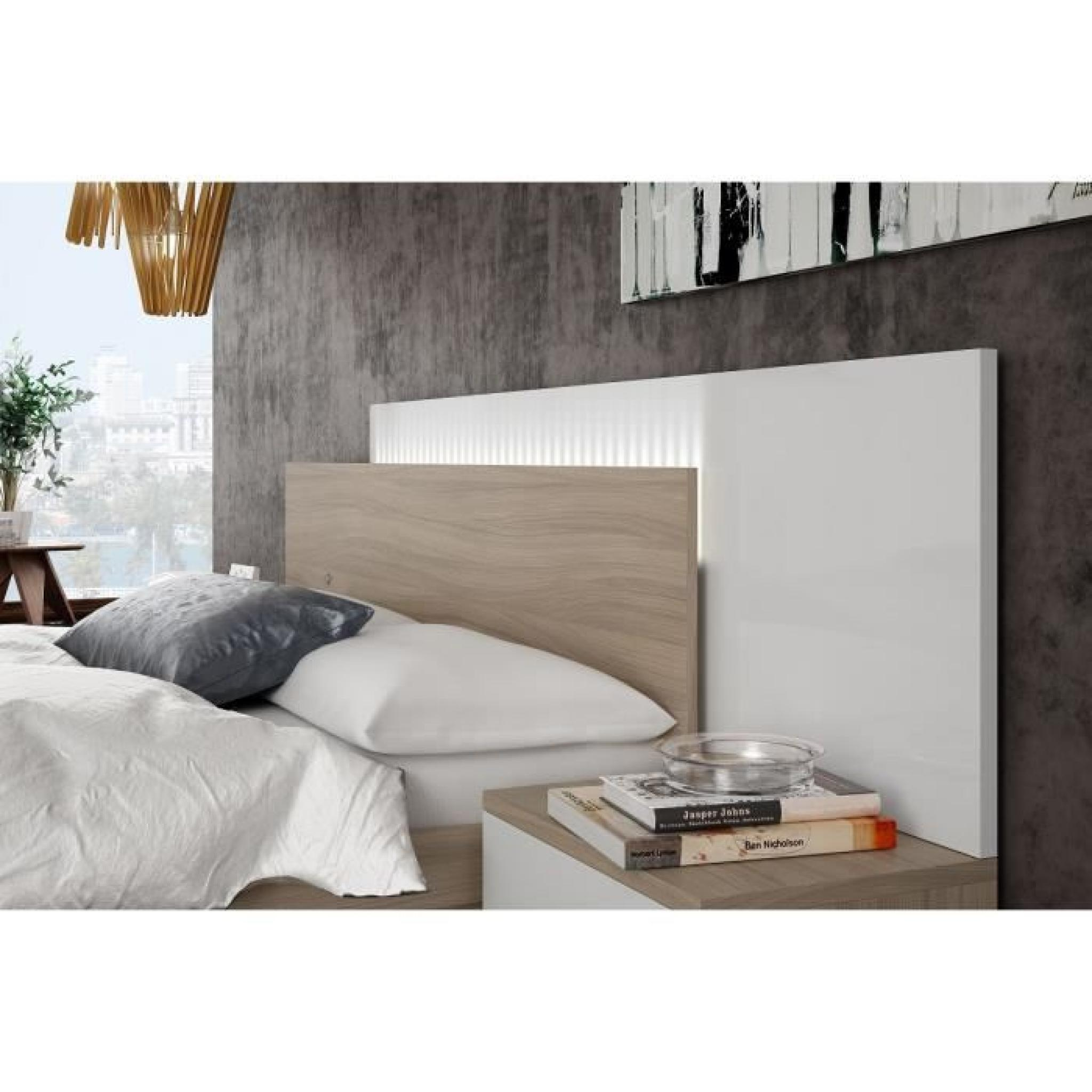 tete de lit pas cher en bois. Black Bedroom Furniture Sets. Home Design Ideas