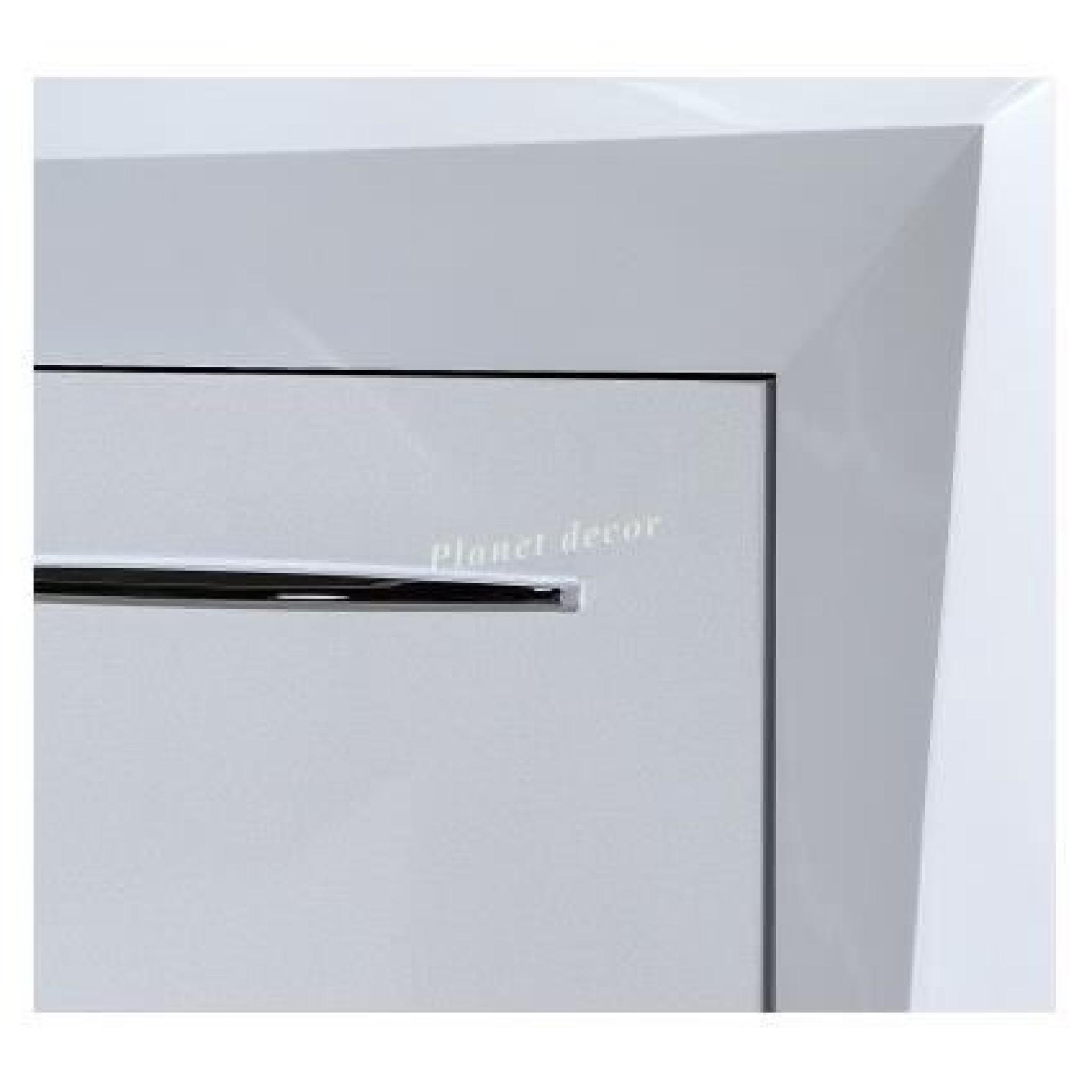 Bahut 4 portes 1 tiroir blanc laqué modele brook 76 Achat