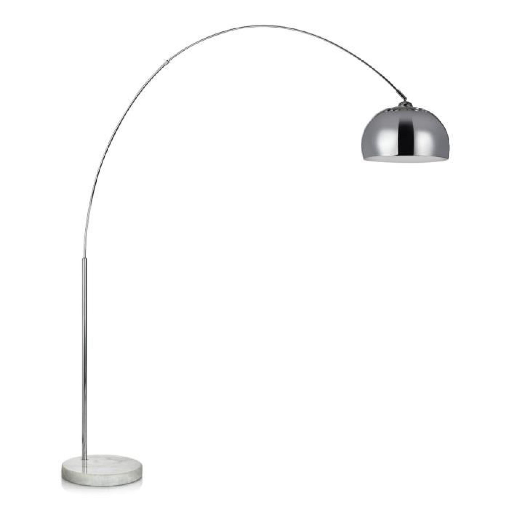 bigarc lampadaire arc h202 chrome achat vente lampadaire pas cher couleur et. Black Bedroom Furniture Sets. Home Design Ideas