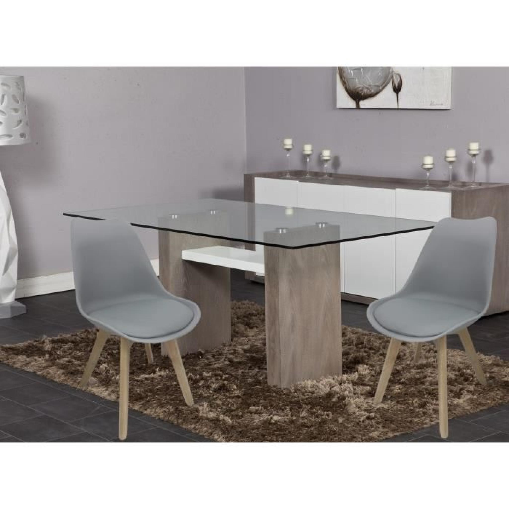 Table et chaise salle a manger pas cher valdiz for Chaise de table a manger