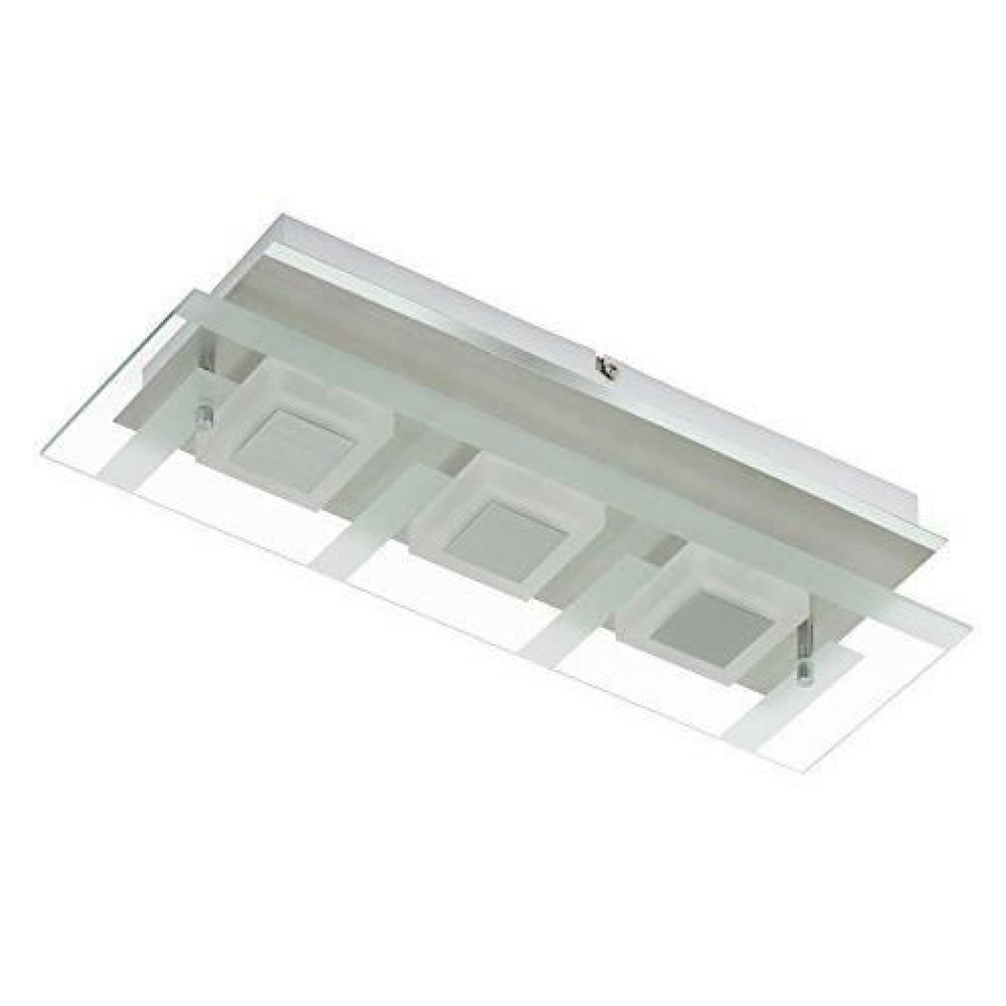 Briloner leuchten applique murale 3 lED 5 w 400 lm nickel mat 3569-032