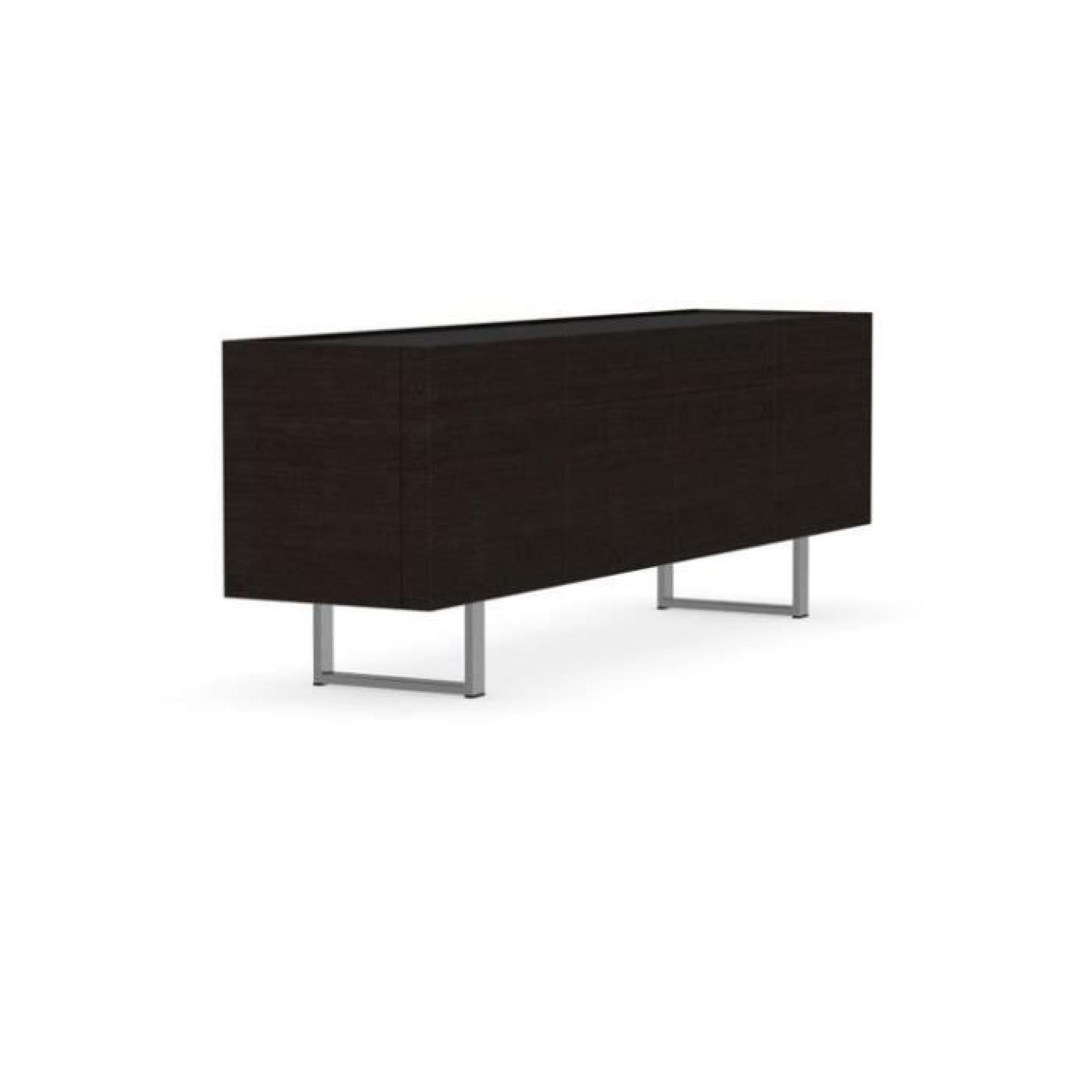 Buffet Design Noir Finest Bahut Moderne Decoration D Interieur