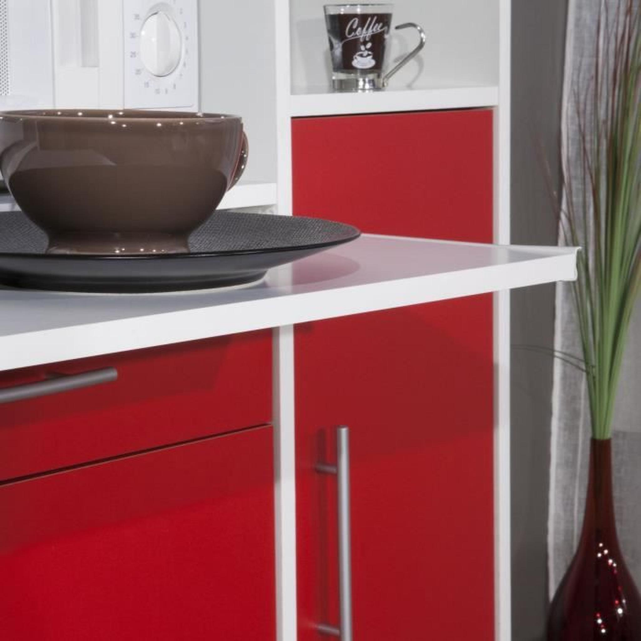pepper buffet de cuisine 59cm rouge achat vente buffet. Black Bedroom Furniture Sets. Home Design Ideas