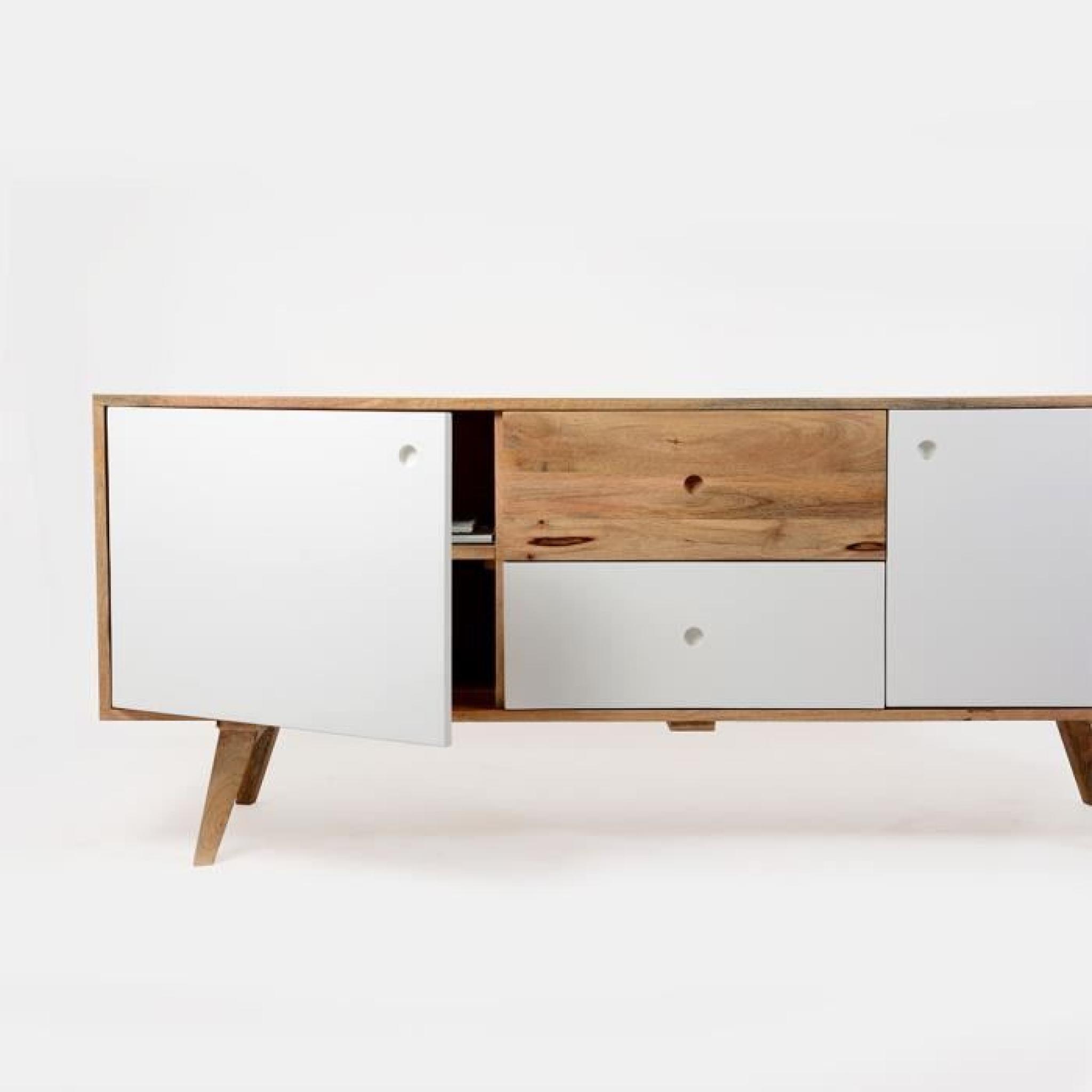 buffet scandinave en bois artiq bois achat vente buffet pas cher couleur et. Black Bedroom Furniture Sets. Home Design Ideas
