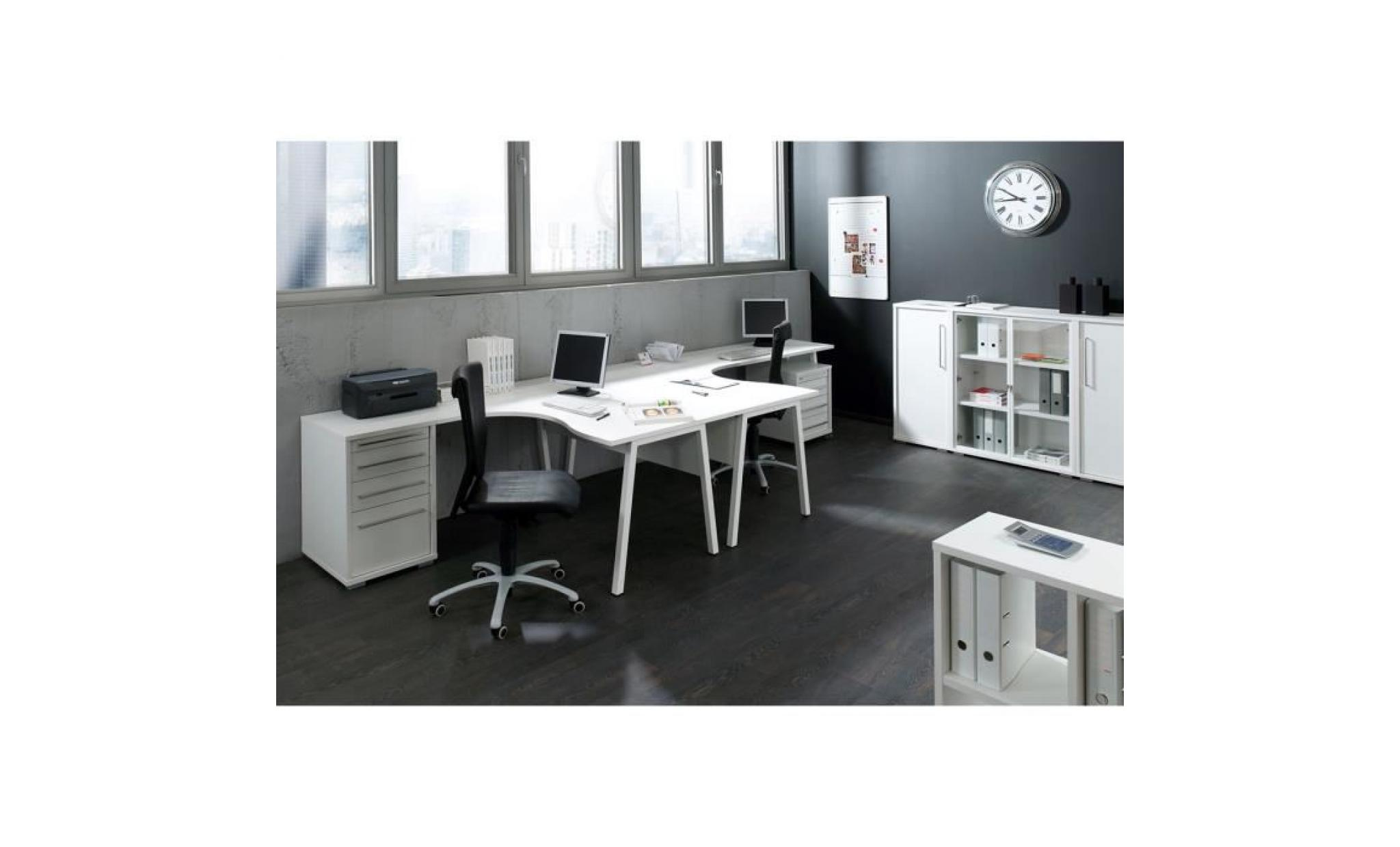 caisson blanc pour bureau 4 tiroirs achat vente. Black Bedroom Furniture Sets. Home Design Ideas