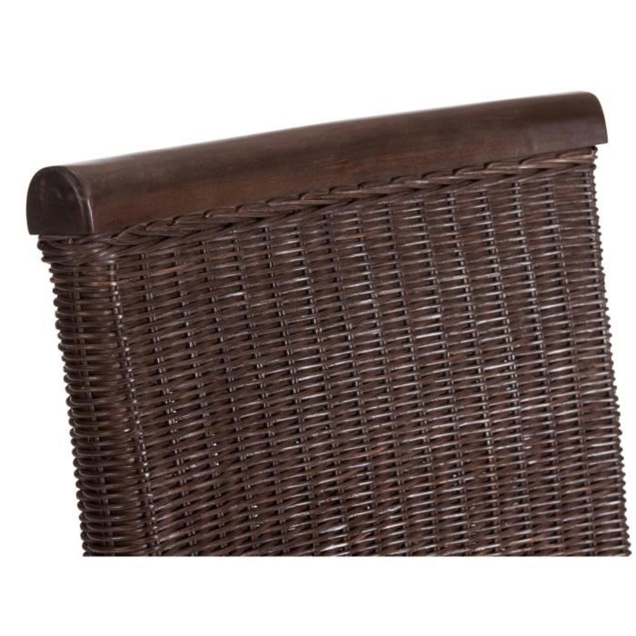 Chaise bologne ii en rotin colonial massivum achat vente Chaise de salle a manger en rotin pas cher