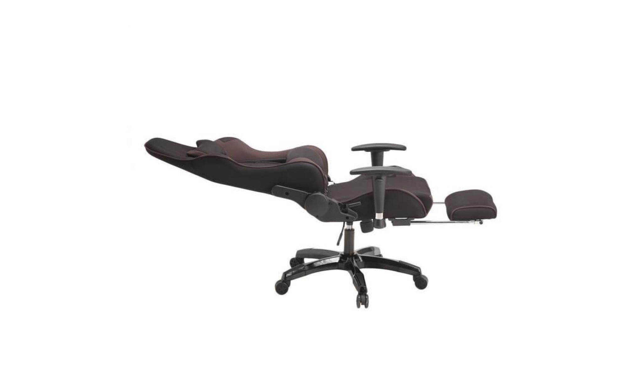 chaise de bureau fauteuil de bureau racing sport noir pourpre rembourrage pais hauteur. Black Bedroom Furniture Sets. Home Design Ideas