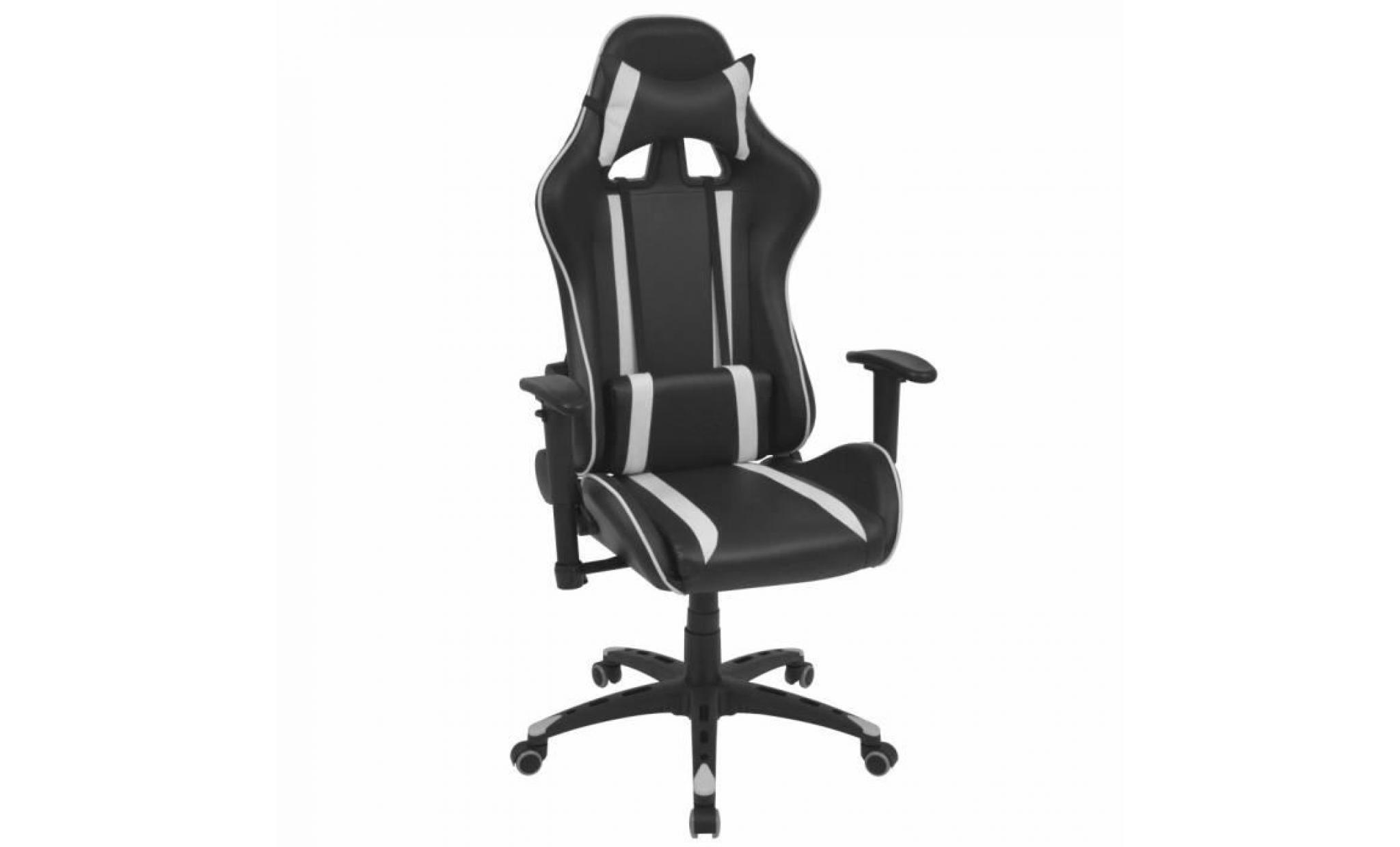 De Bureau Cuir Chaises Chaise Contemporain Inclinable Scandinave Blanc Artificiel Fauteuil jL4RA35