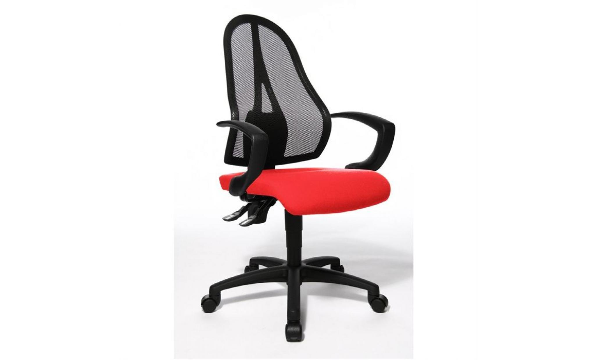 De Bureau Chaise Rouge Point Open xdCeroB