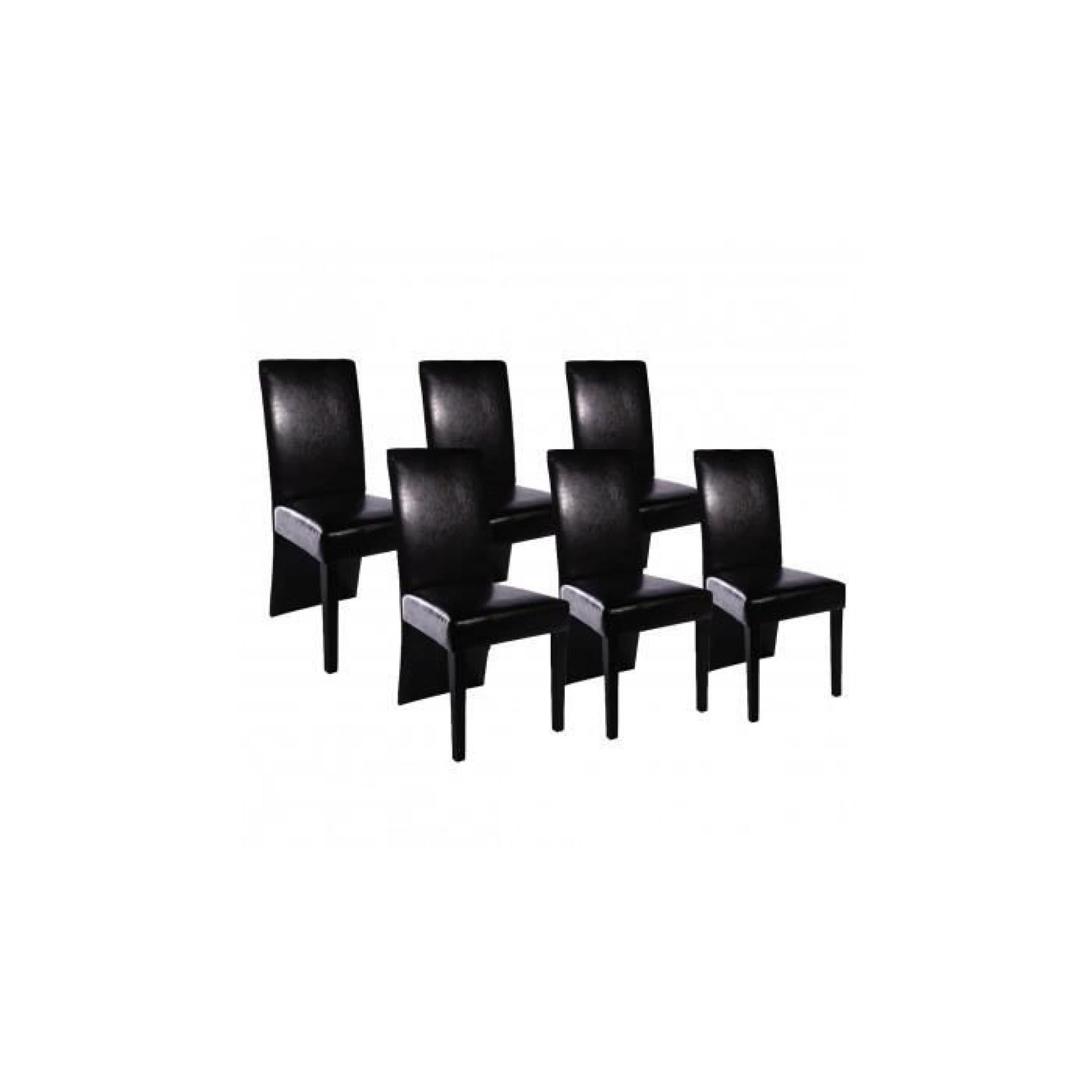 lot de 6 chaise pas cher maison design. Black Bedroom Furniture Sets. Home Design Ideas