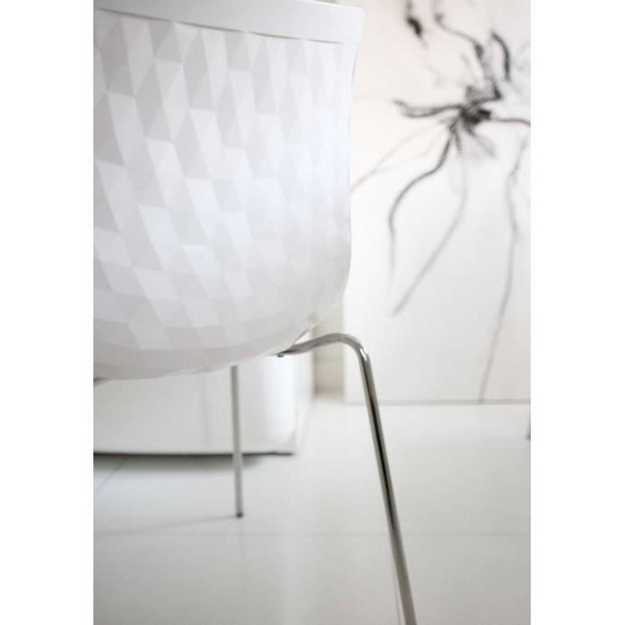 de design brillante CALLIGARIS blanche Chaise ICE 6vYbf7gy