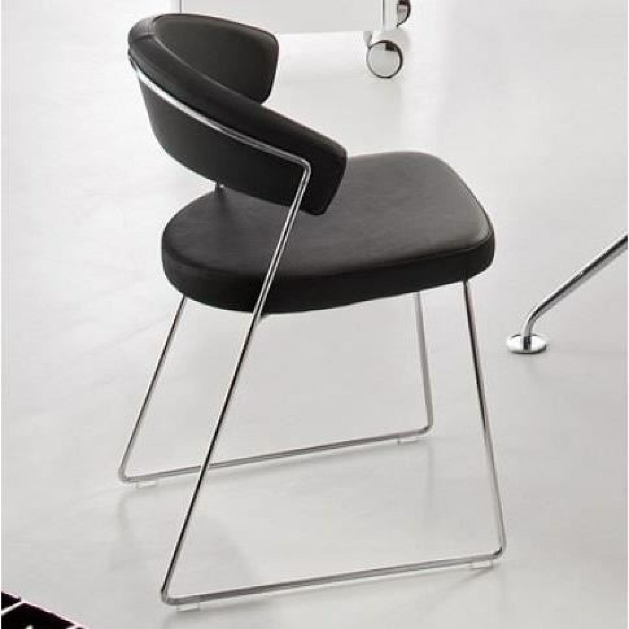 Chaise Design NEW YORK De CALLIGARIS En Cuir No