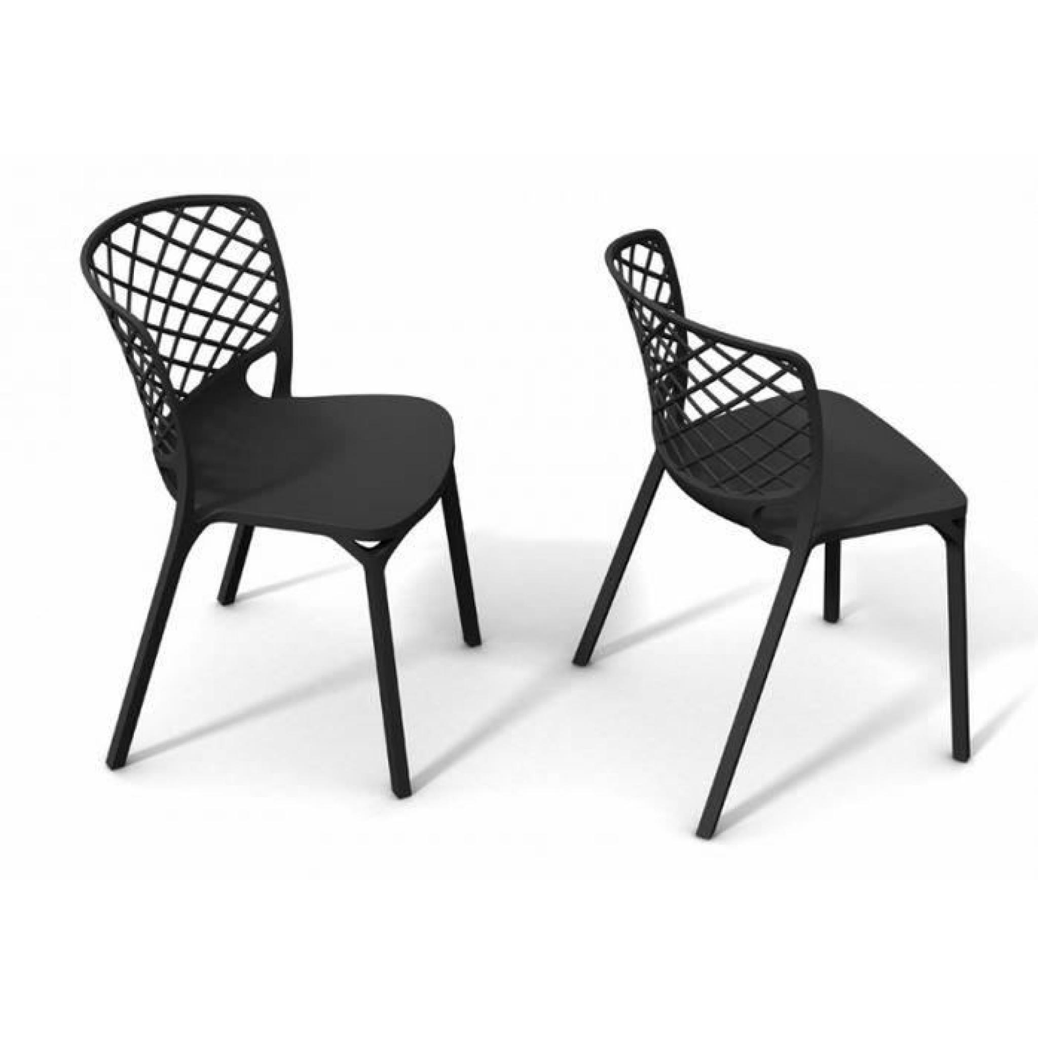 chaise empilable pas cher trendy chaise plastique. Black Bedroom Furniture Sets. Home Design Ideas