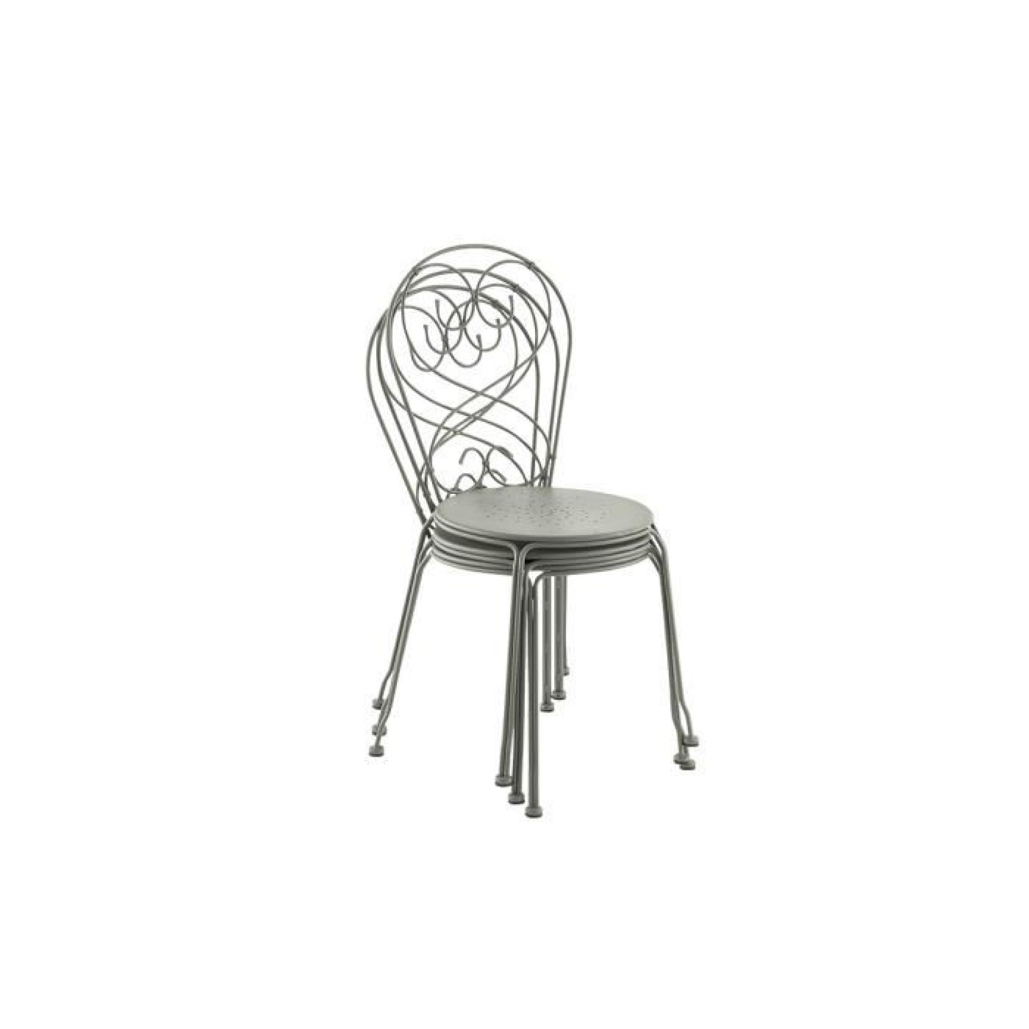 46 89 Cm Empilable Galet51 Pauline Chaise X A5j4RL