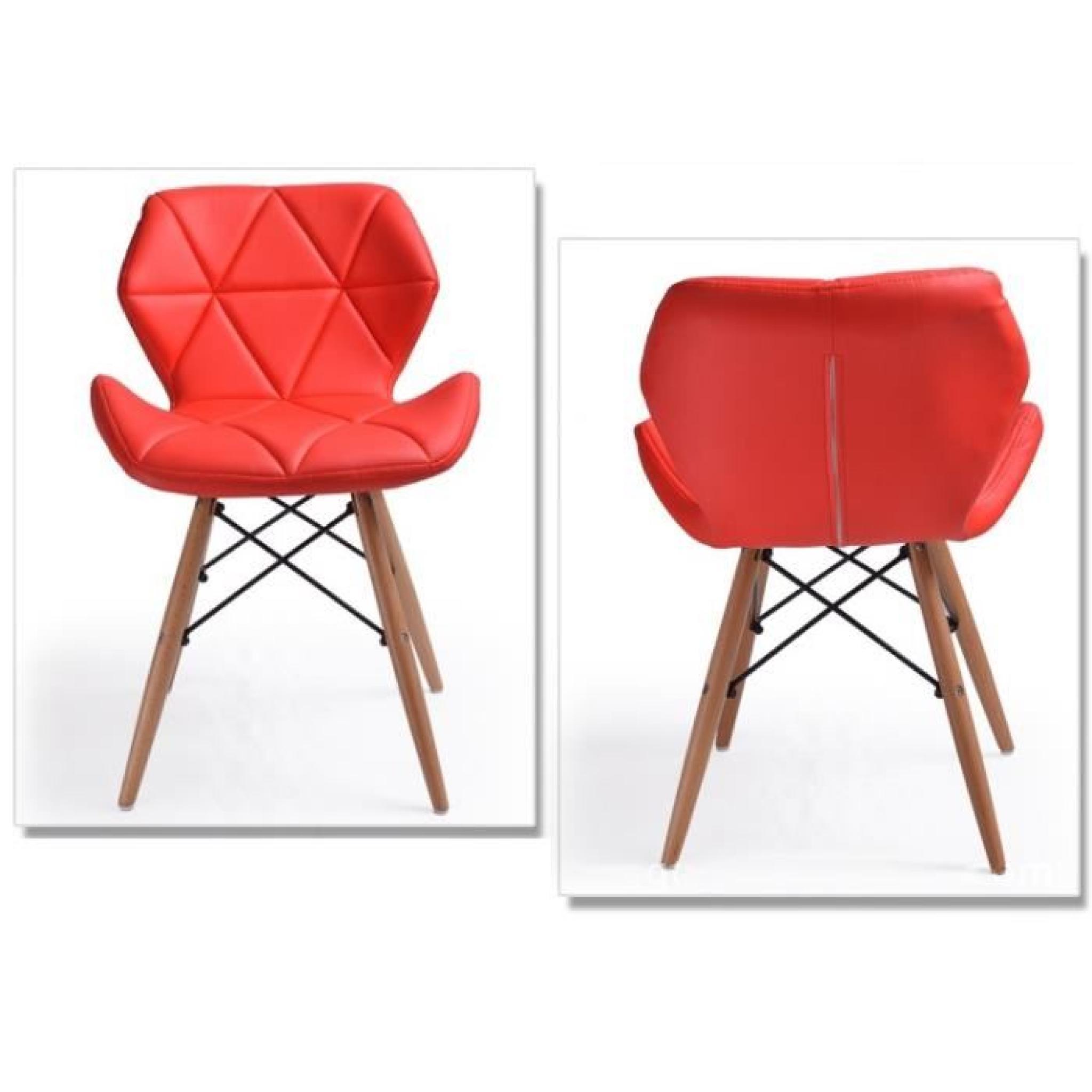chaise fauteuil design luxe art d co r tro vintage industriel inspir eames dsw bess achat. Black Bedroom Furniture Sets. Home Design Ideas