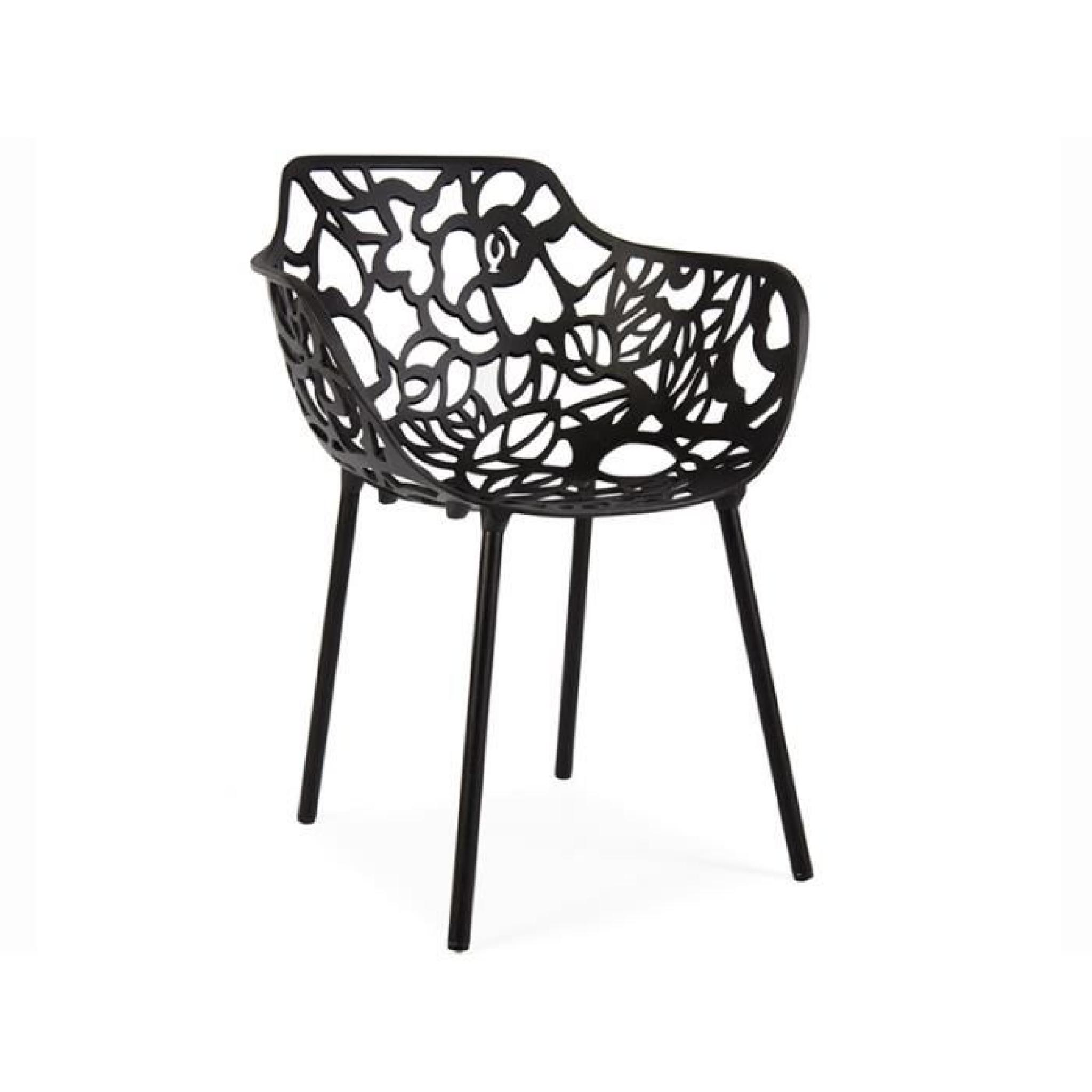 Chaise Lilly - Noir