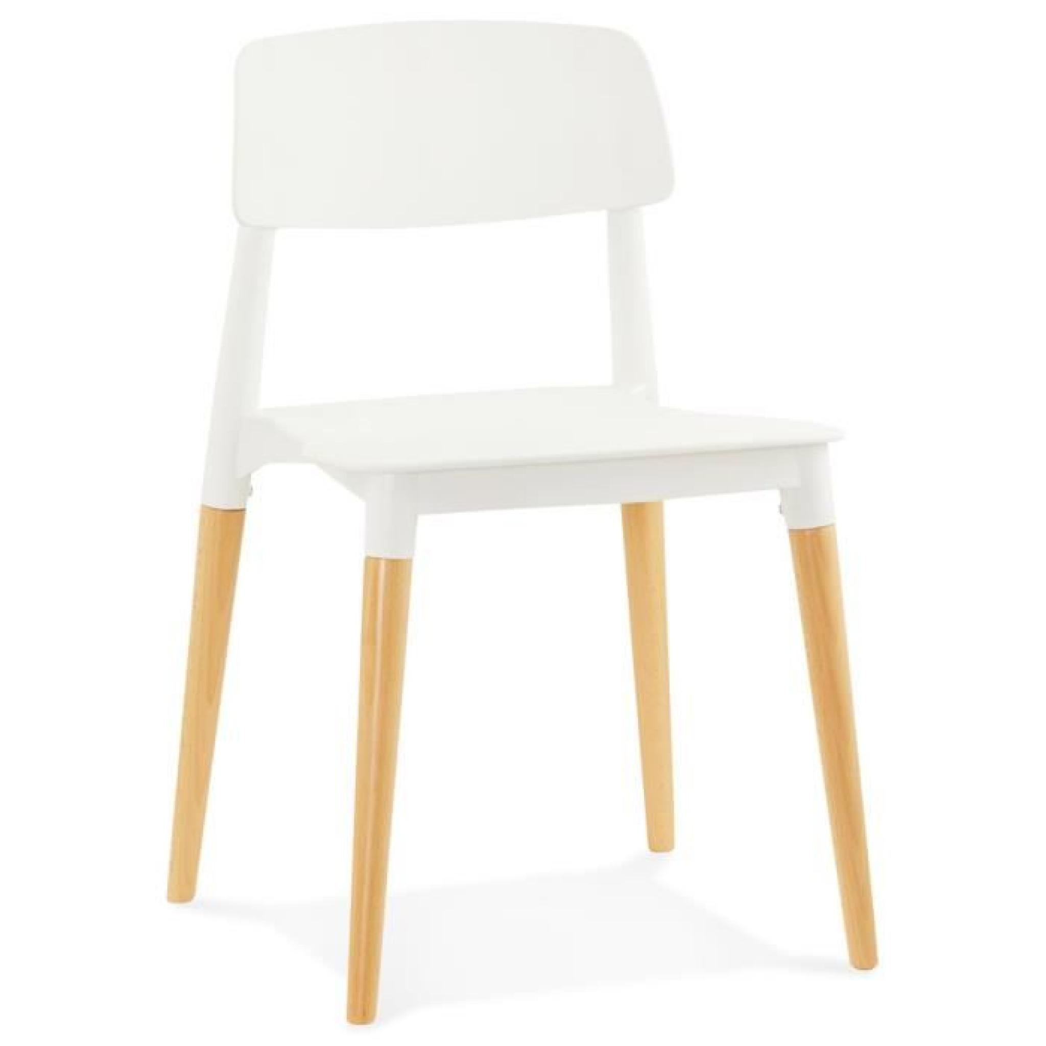 Chaise Moderne Pas Cher.Chaise Moderne Trendy Blanche Style Scandinave