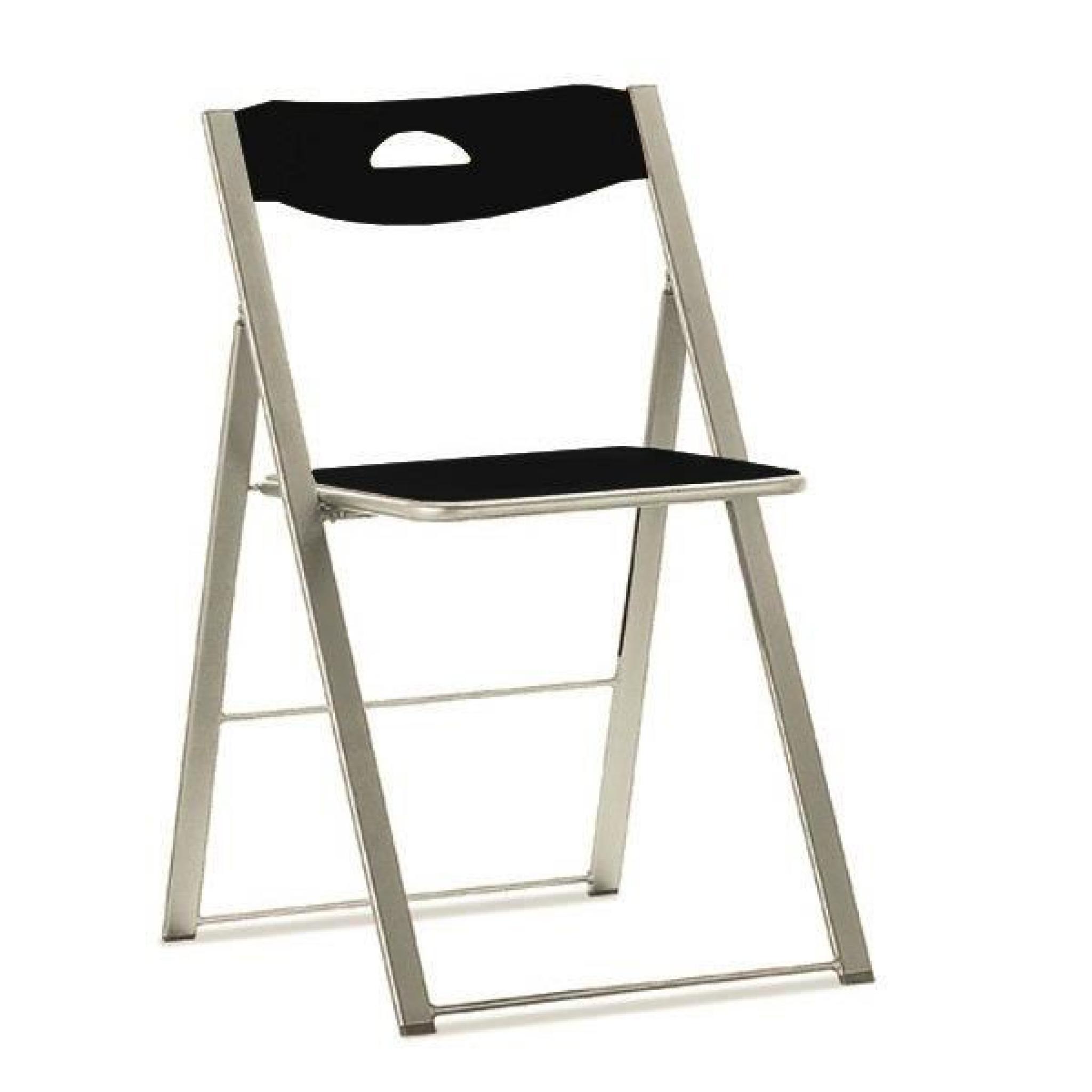 Chaise Pliante ICON Noire