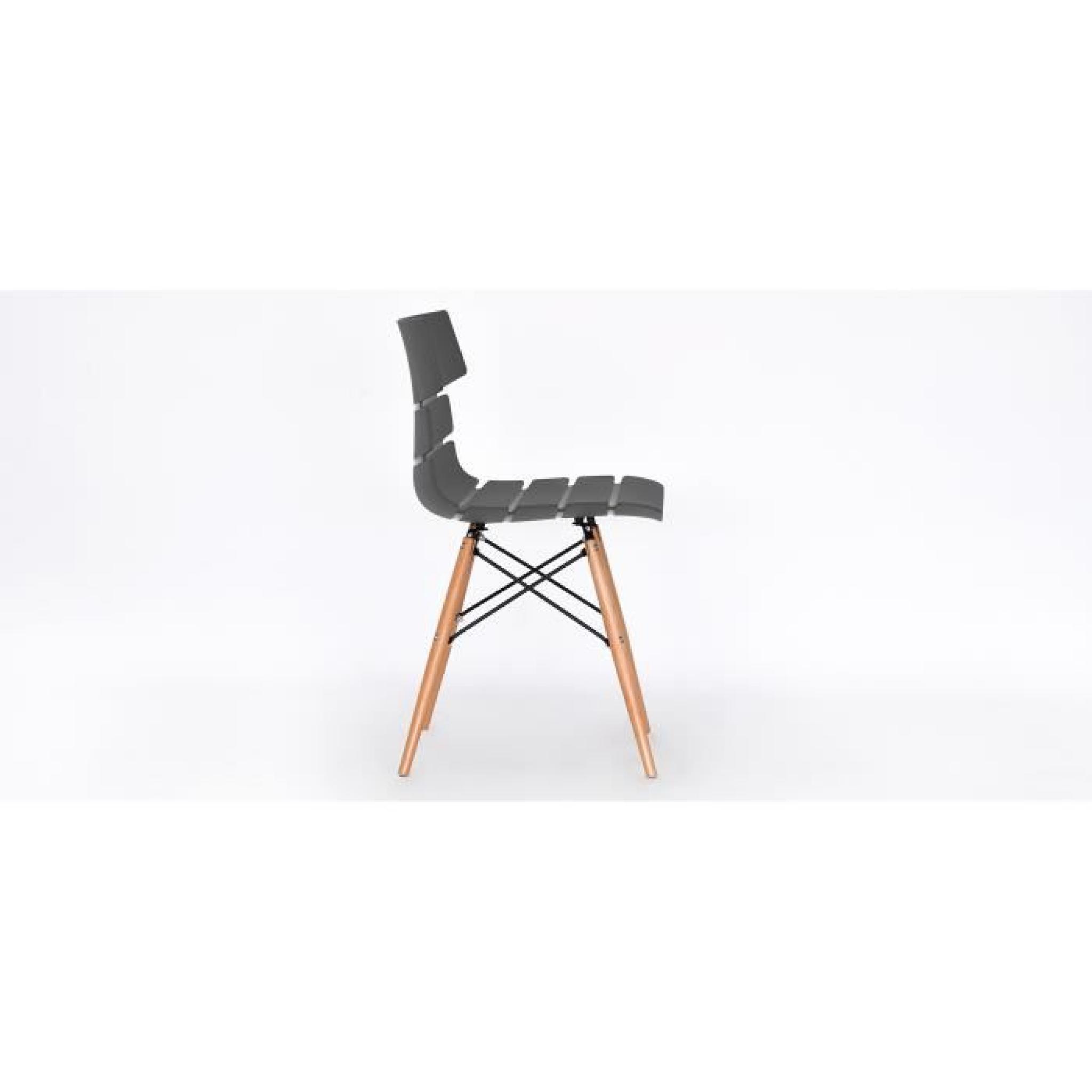 chaise pulmak bois gris achat vente chaise salle a manger pas cher couleur et. Black Bedroom Furniture Sets. Home Design Ideas