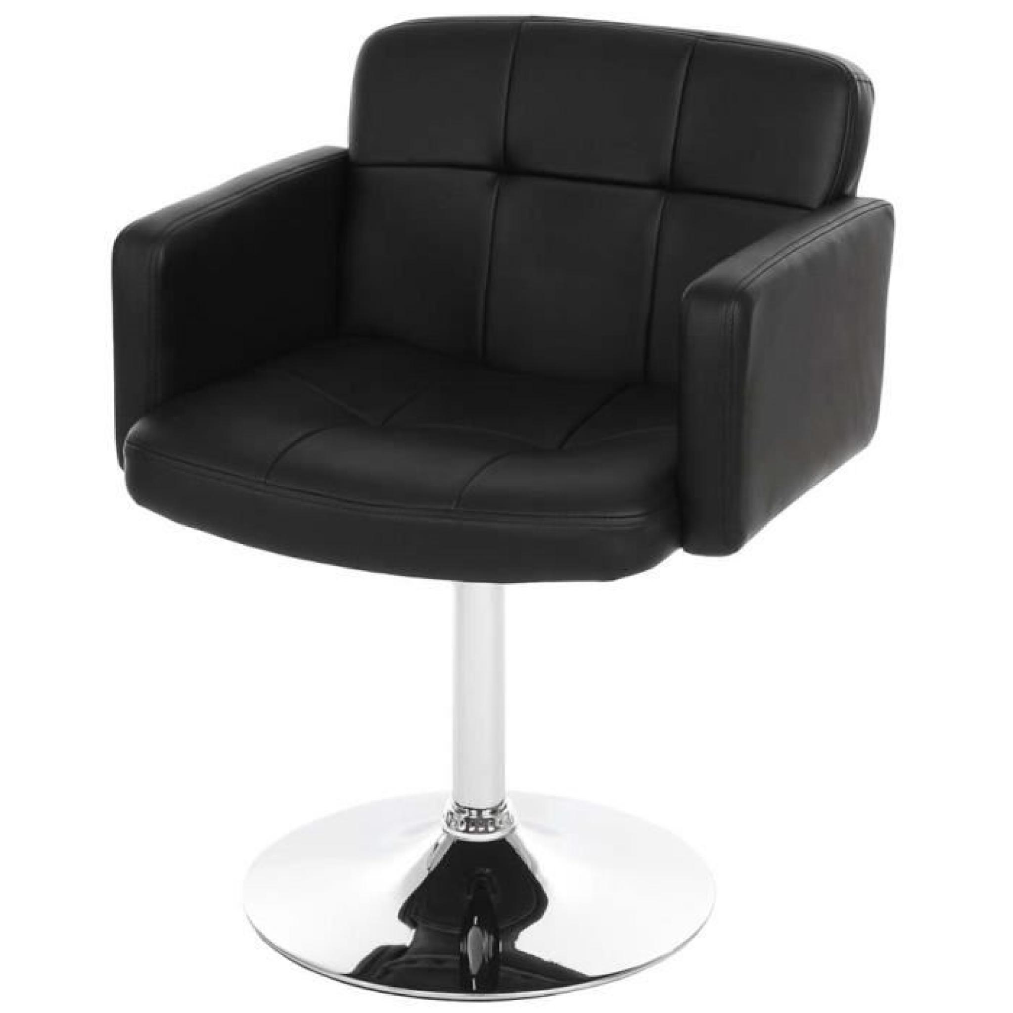 Chaise Salon Pivotante Orlando En Simili Cuir N