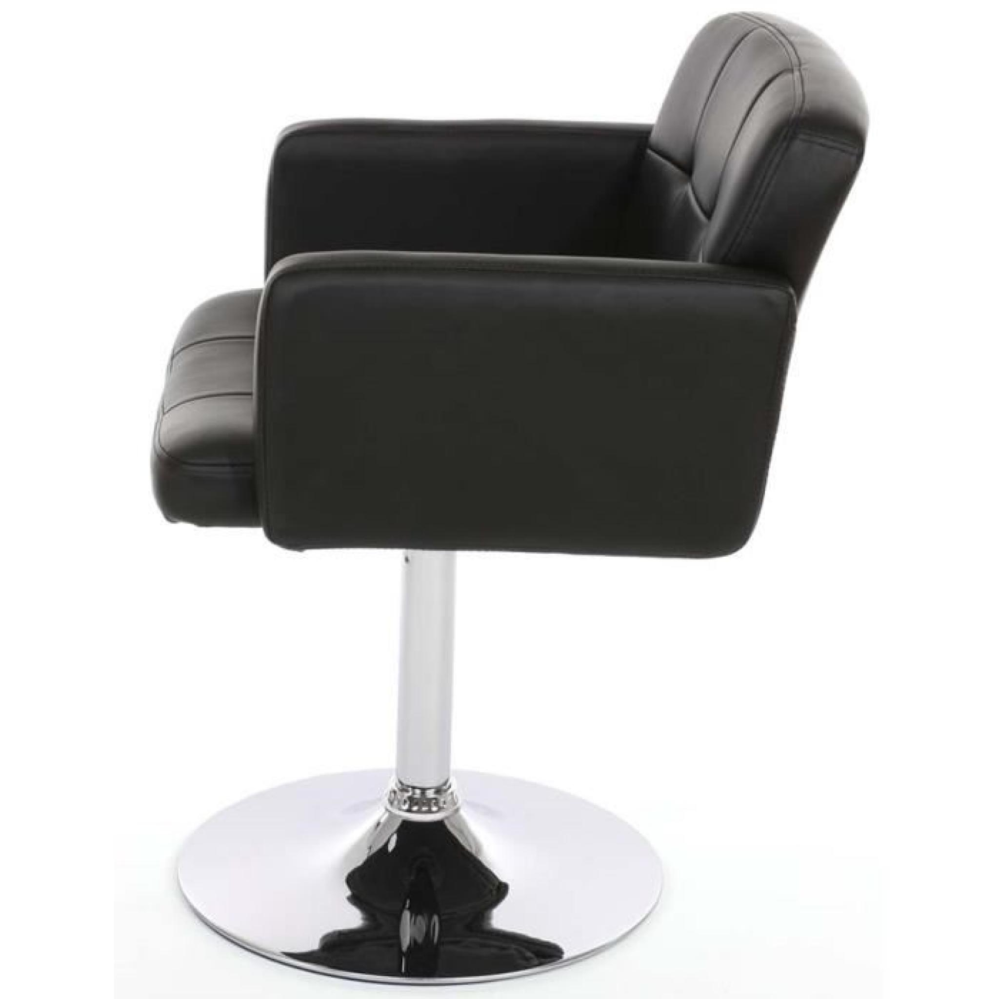Chaise Salon Pivotante Orlando En Simili Cuir N Pas Cher