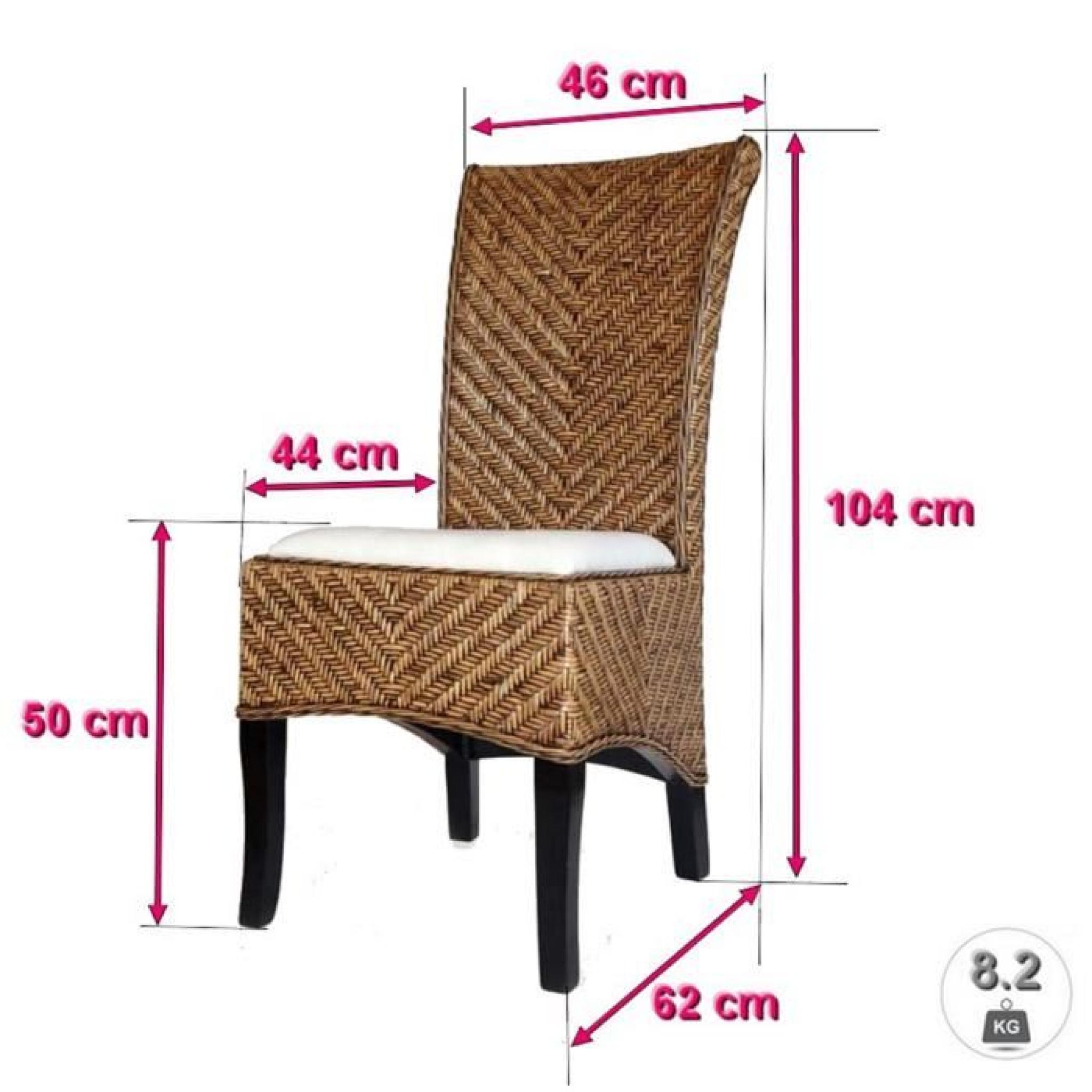 Chaise salta rotin achat vente chaise salle a manger - Chaise rotin pas cher ...