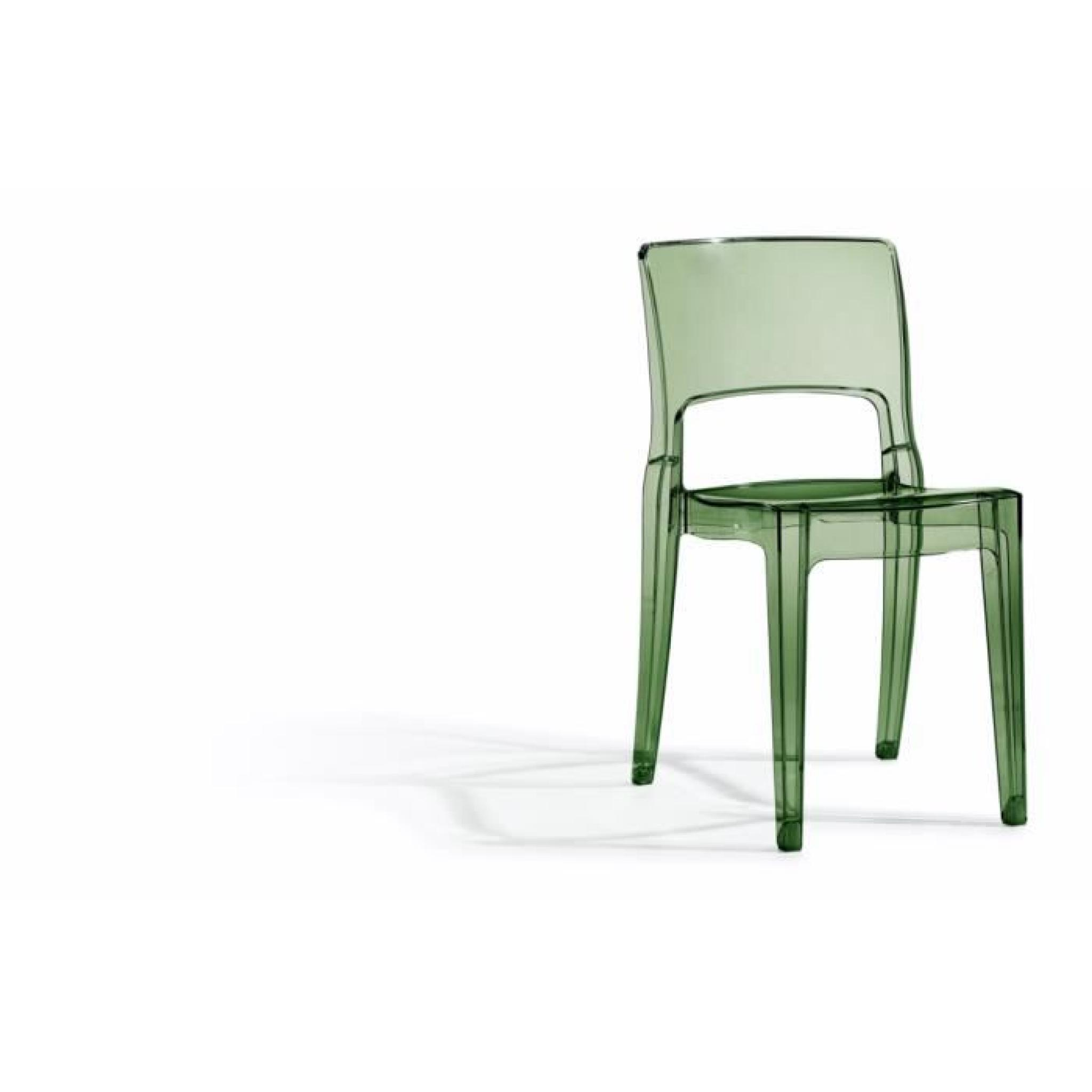 Chaise Grise Transparente Design