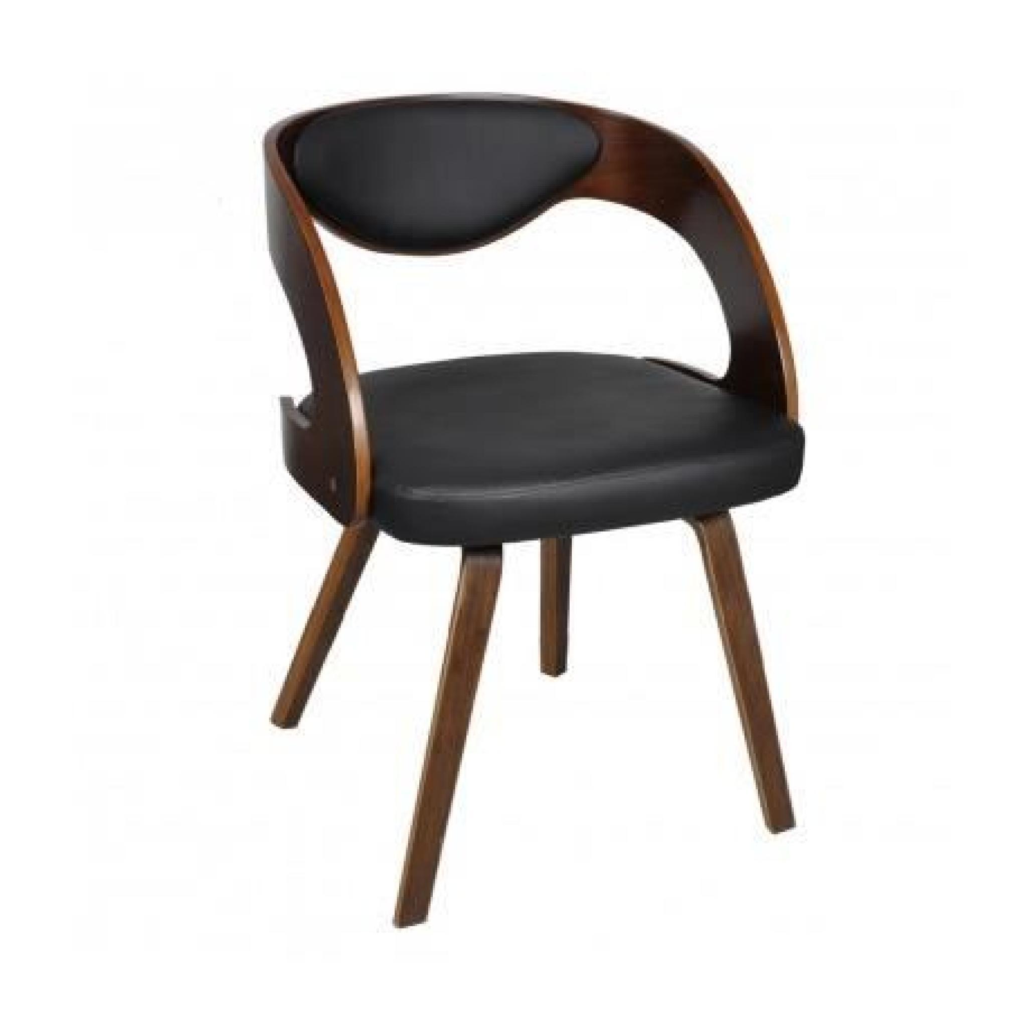 Chaises Design De Salon Salle A Manger Marron X6 Maja Achat
