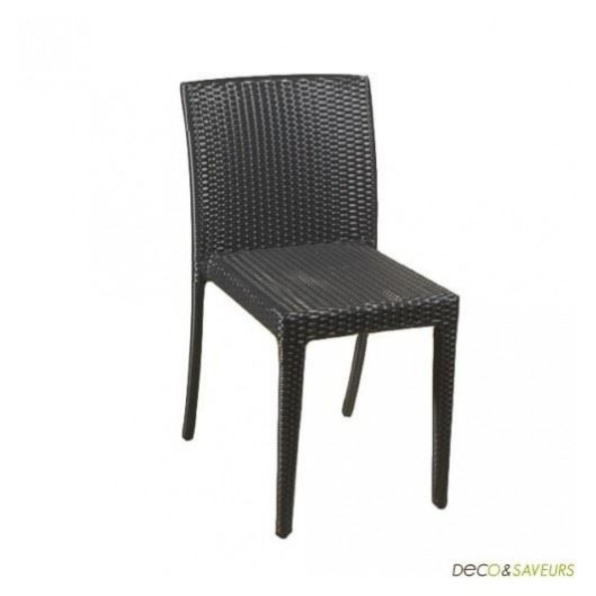 Tressée Chaises Résine Salle A Chaise En Noirex4Achatvente NXk0O8wPn