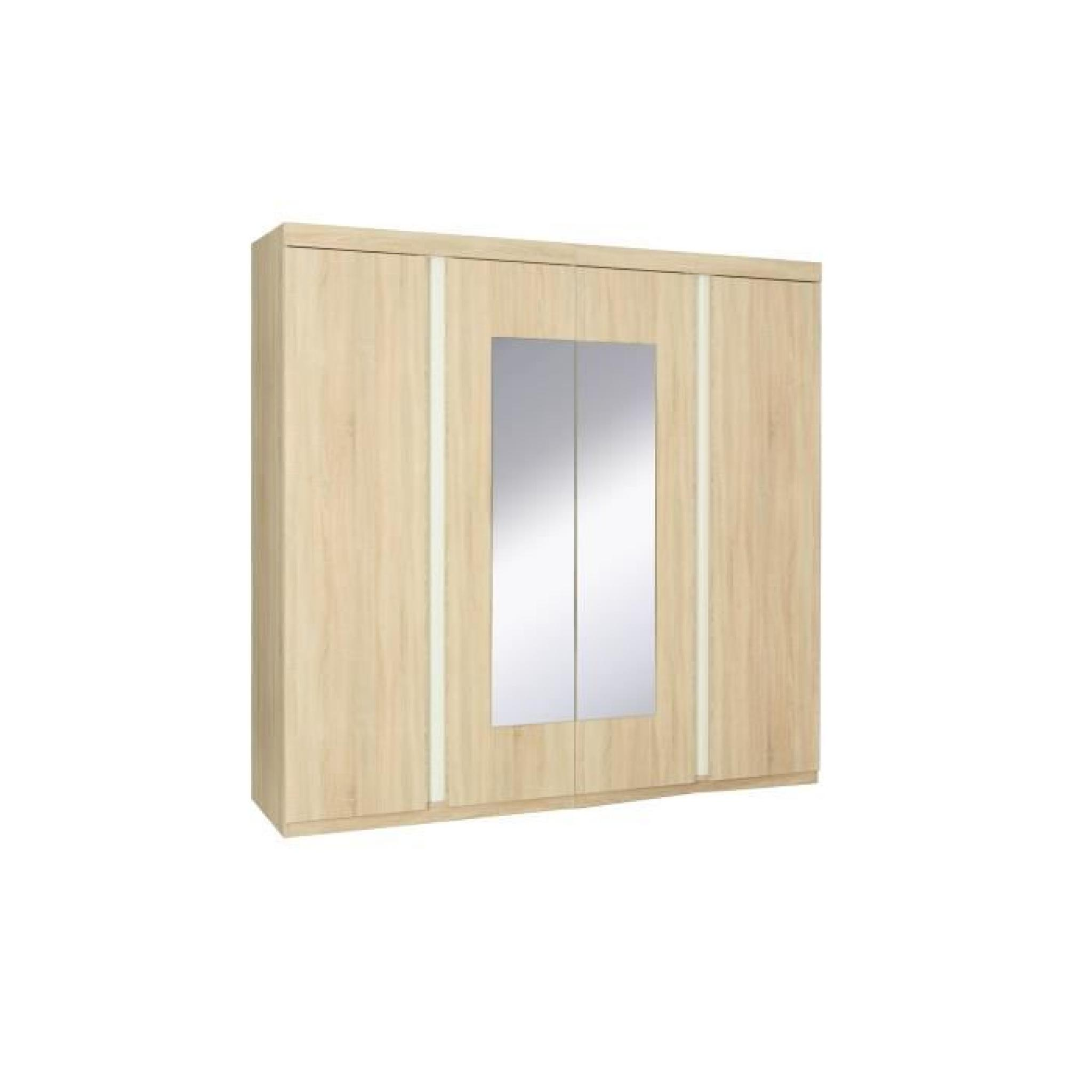 Chambre a coucher adulte complete pas cher armoire for Chambre a coucher adulte discount