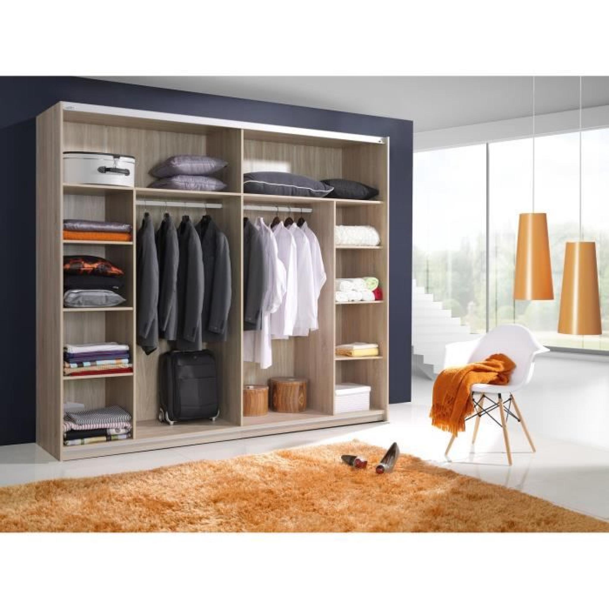 Chambre coucher compl te saragossa achat vente chambre Chambre complete design pas cher