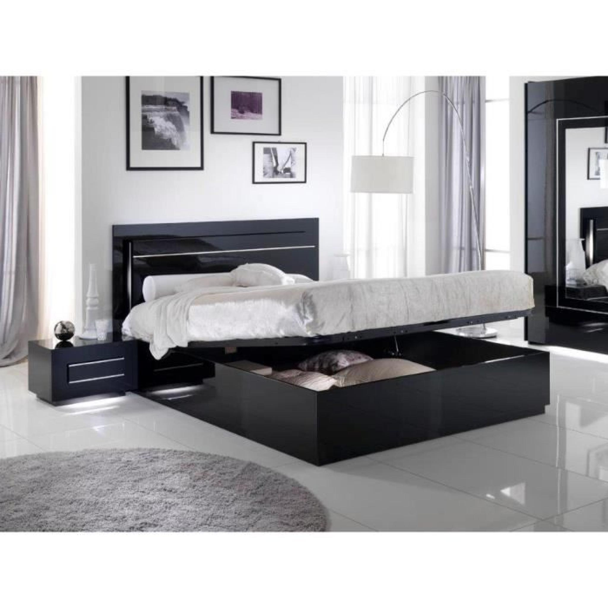 beautiful model lit de chambre contemporary home ideas 2018. Black Bedroom Furniture Sets. Home Design Ideas